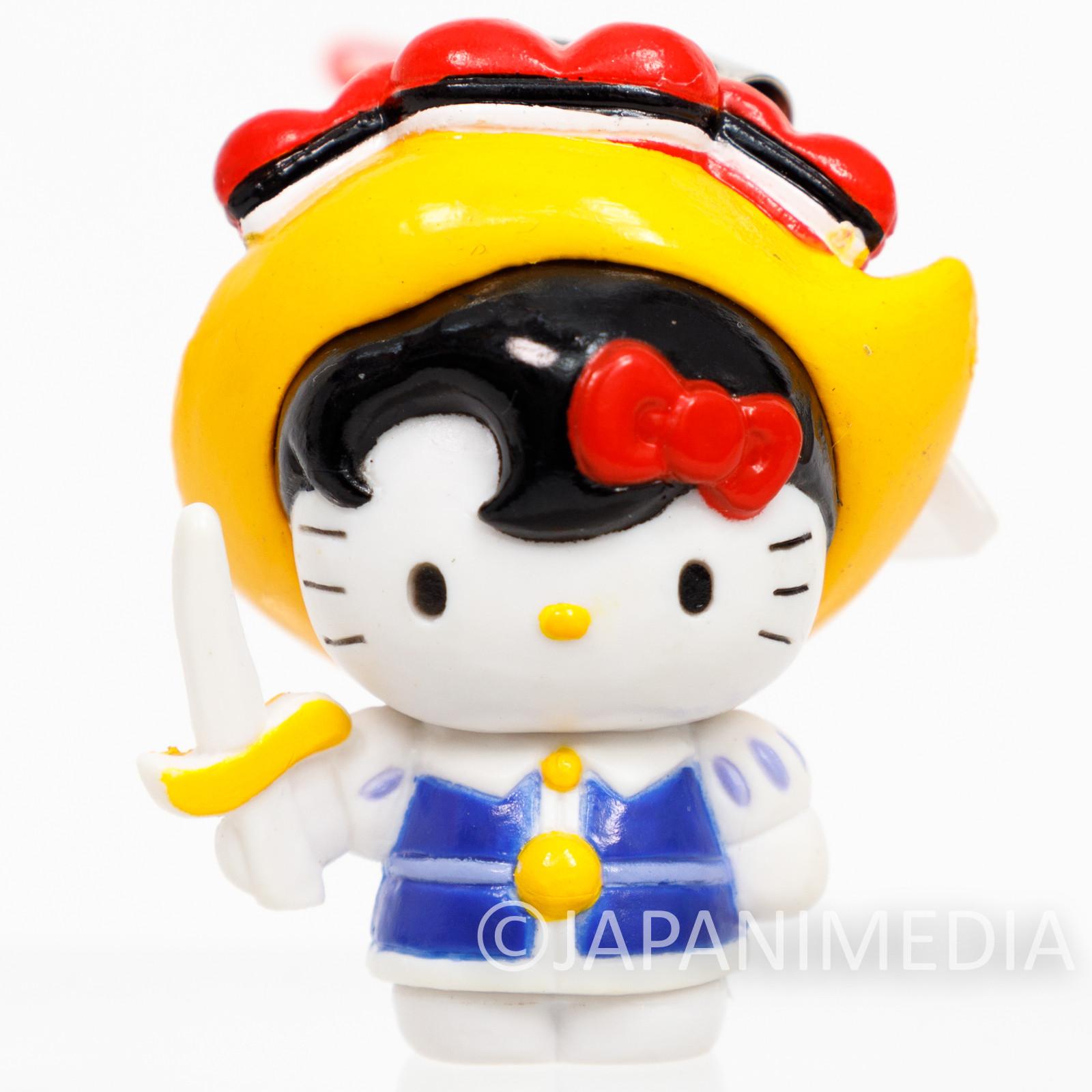 RARE! Princess Knight Sapphire x Hello Kitty Figure Strap Osamu Tezuka