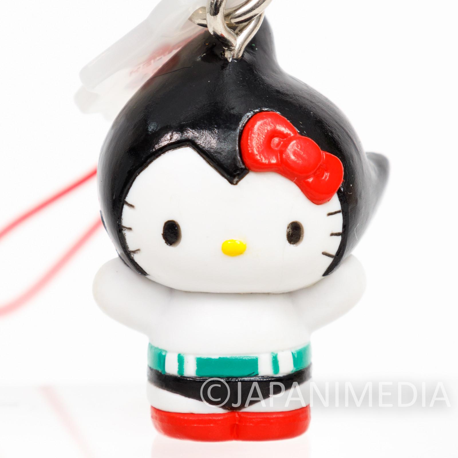 RARE! Astro Boy Atom x Hello Kitty Figure Strap Osamu Tezuka