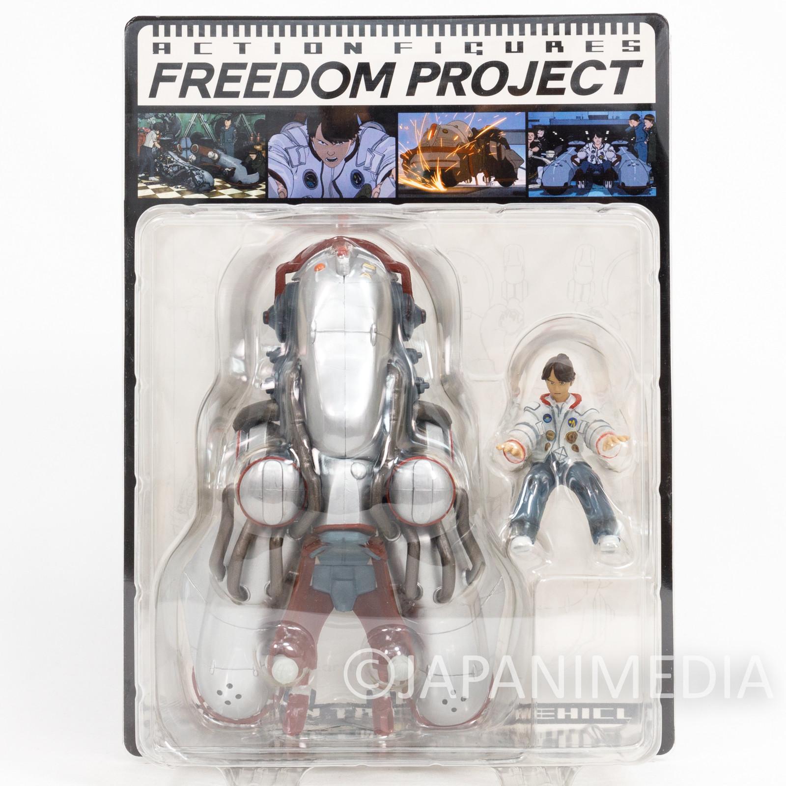 FREEDOM Takeru in Tricycle Vehicle Figure Katsuhiro Otomo ANIME 2