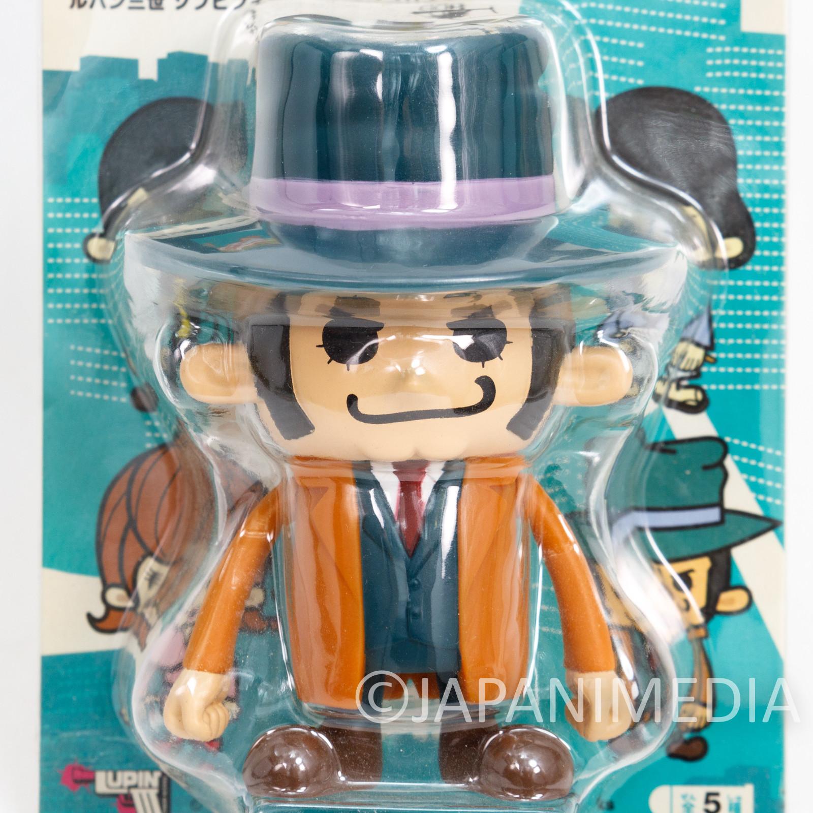 Lupin the 3rd x Panson Works Zenigata Soft Vinyl Figure Banpresto THIRD