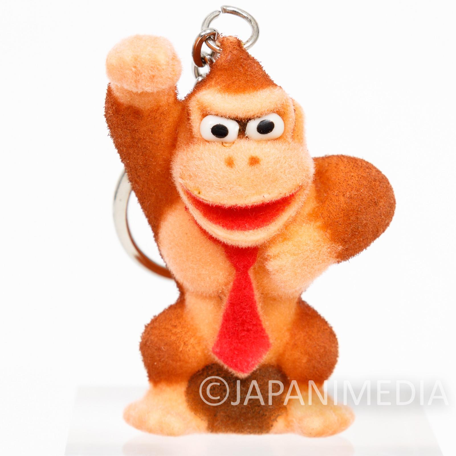 Donkey Kong Flocky Figure Keychain #A Nagasakiya Nintendo FAMICOM SNES