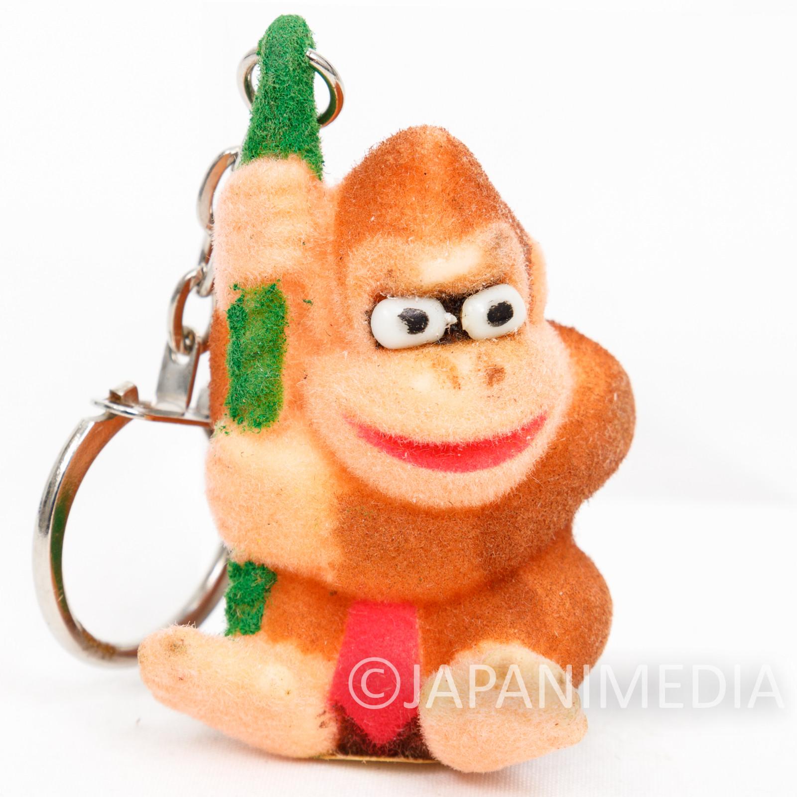 Donkey Kong Flocky Figure Keychain #C Nagasakiya Nintendo FAMICOM SNES