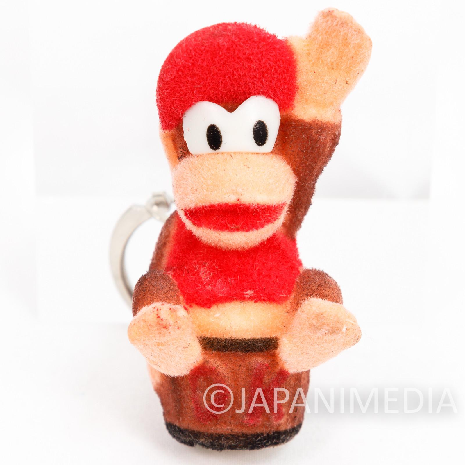 Donkey Kong Diddy Kong Flocky Figure Keychain #D Nagasakiya Nintendo FAMICOM