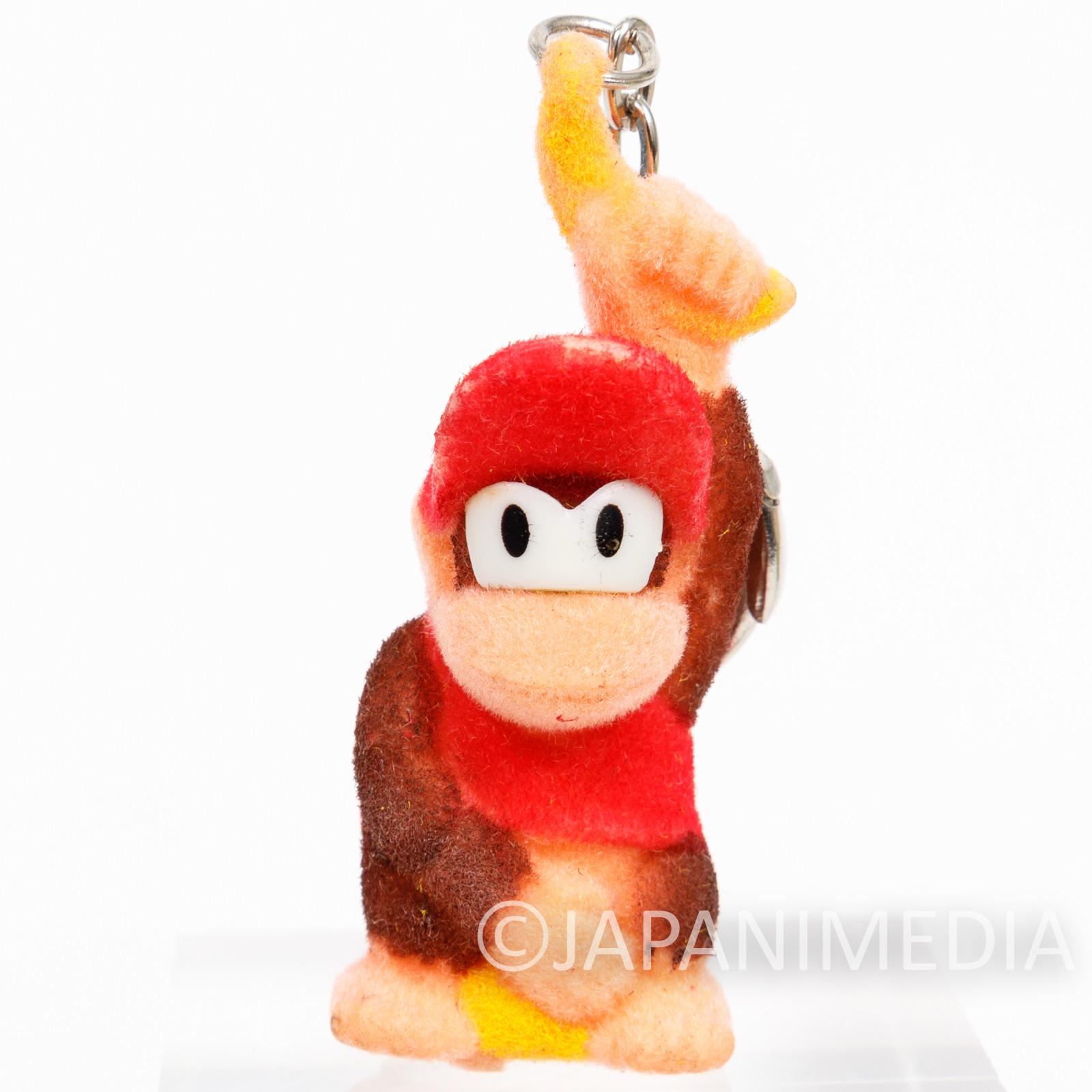 Donkey Kong Diddy Kong Flocky Figure Keychain #E Nagasakiya Nintendo FAMICOM