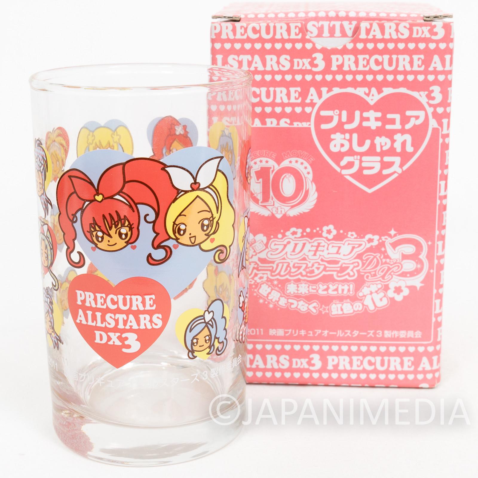 Pretty Cure All Stars DX3 Glass Futari Yes Fresh HeartCatch JAPAN ANIME