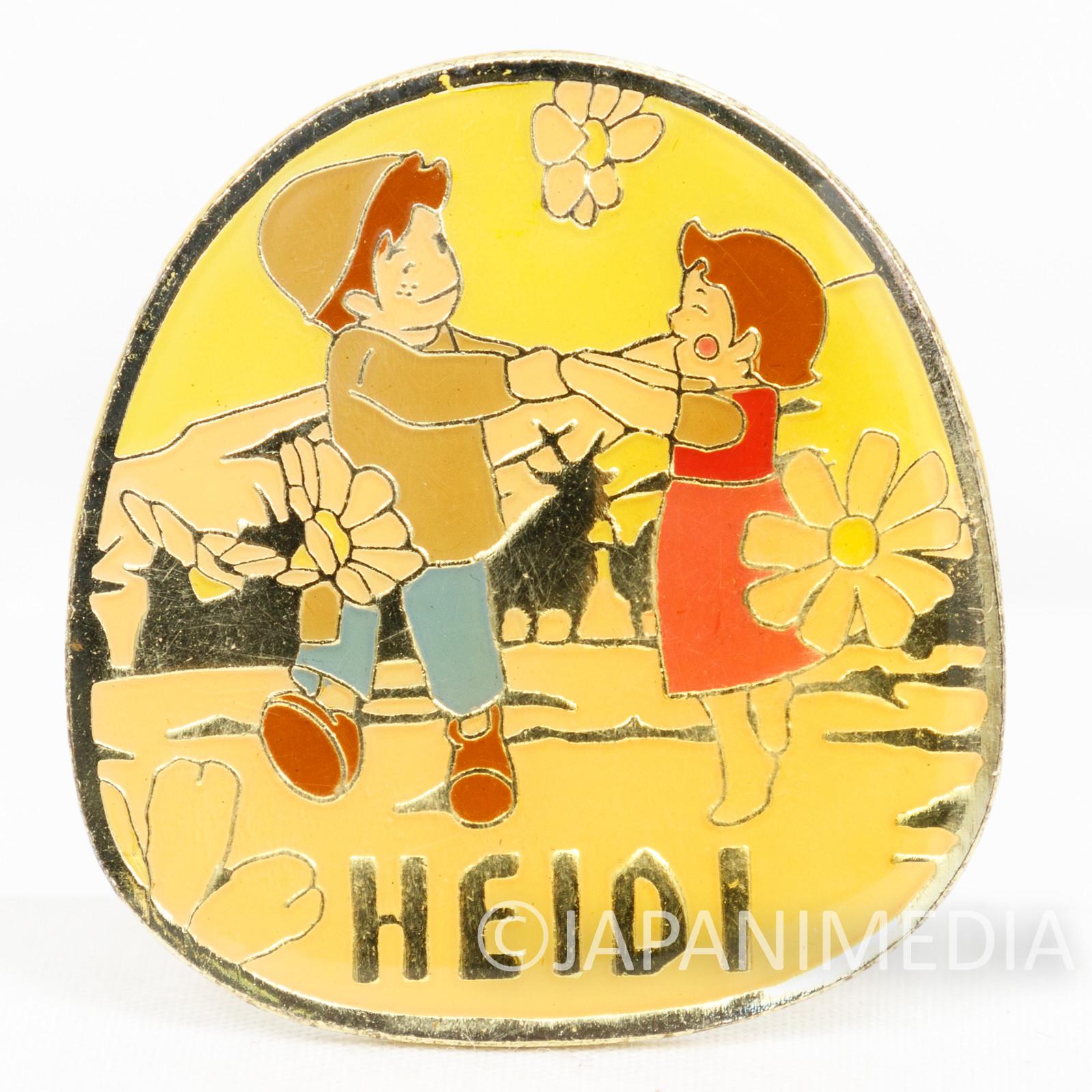 Heidi Girl of the Alps Cute Pins Kabaya JAPAN ANIME #11-2