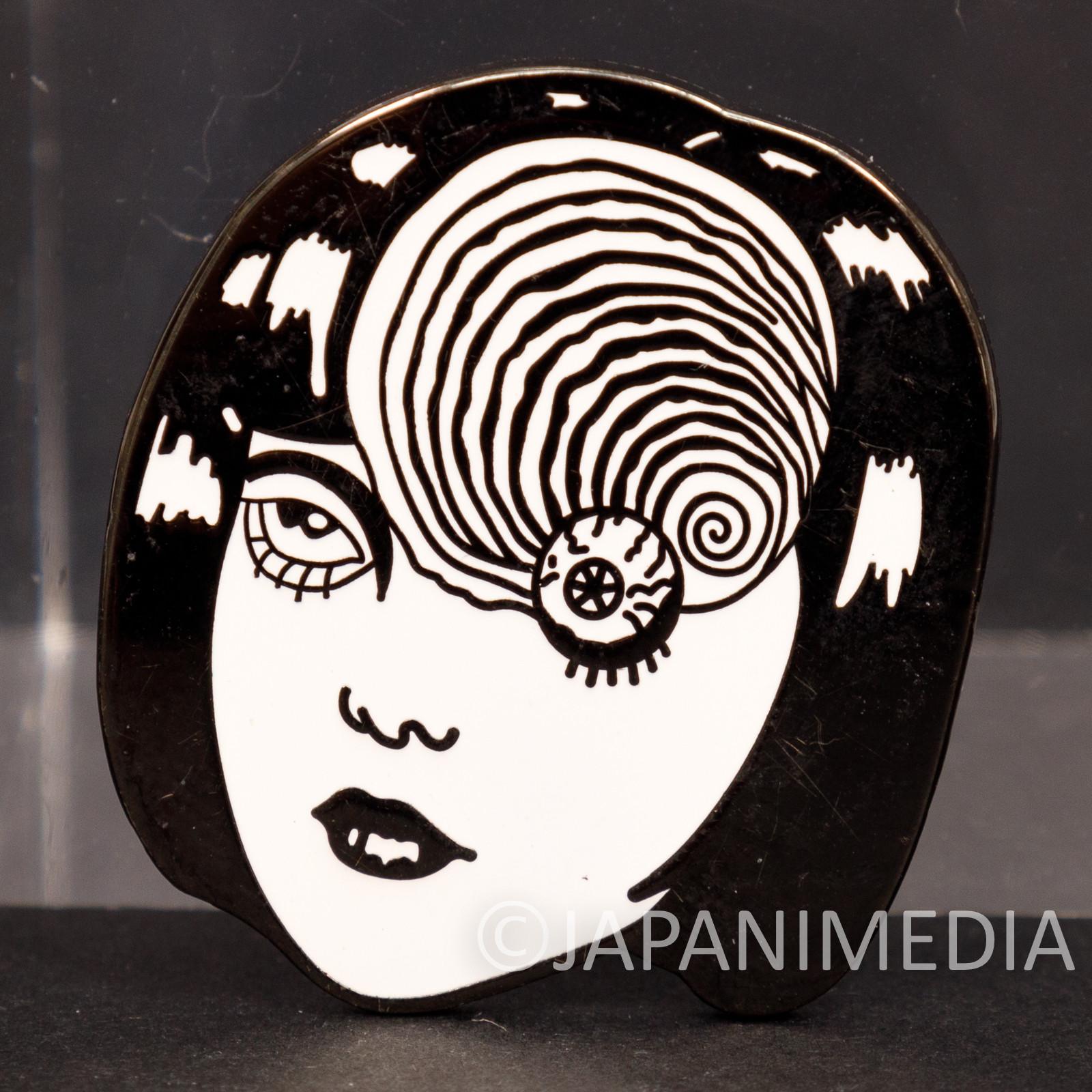 Uzumaki Junji Ito Metal Pins Horror MANGA JAPAN ANIME