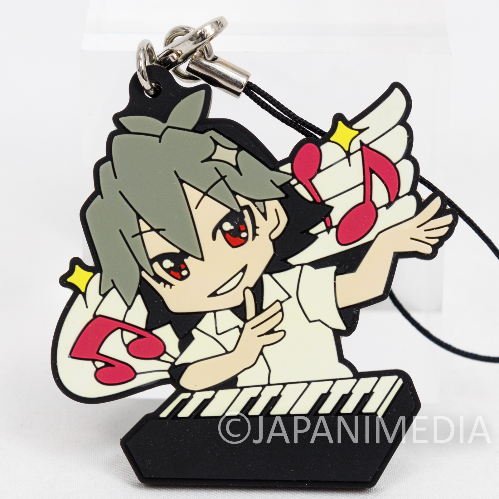 (DAMAGED) Evangelion Petit EVA Nagisa Kaworu Rubber Strap Banpresto JAPAN ANIME MANGA EVA
