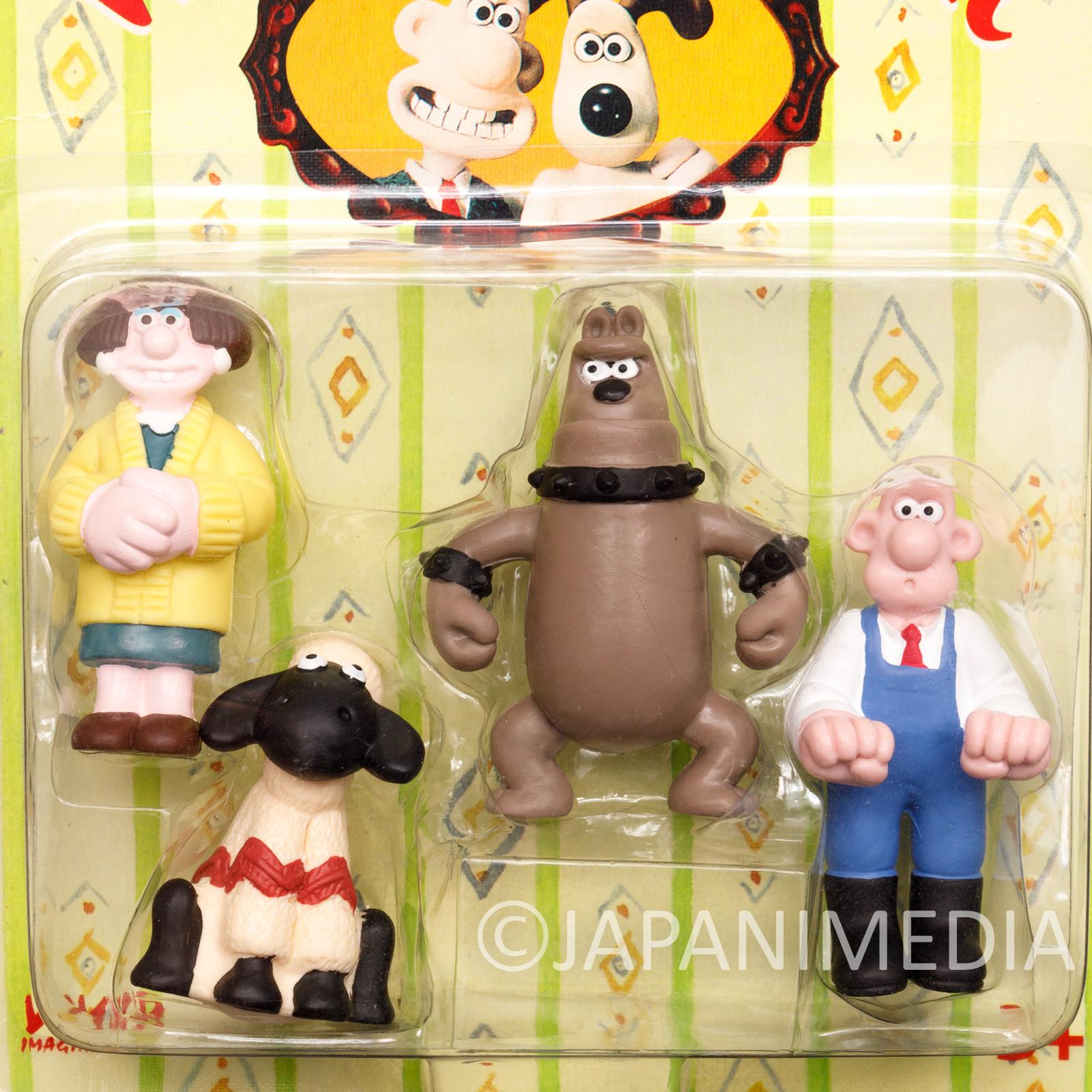 Wallace & Gromit Mini Figure Pack Vivid Imaginations Ardman JAPAN