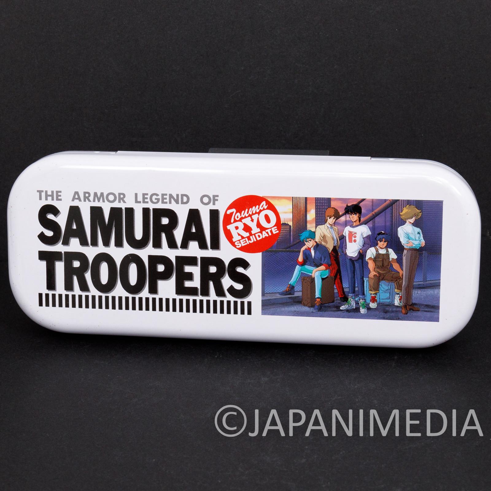 Ronin Warriors Samurai Troopers Can Pen Case #1 JAPAN ANIME