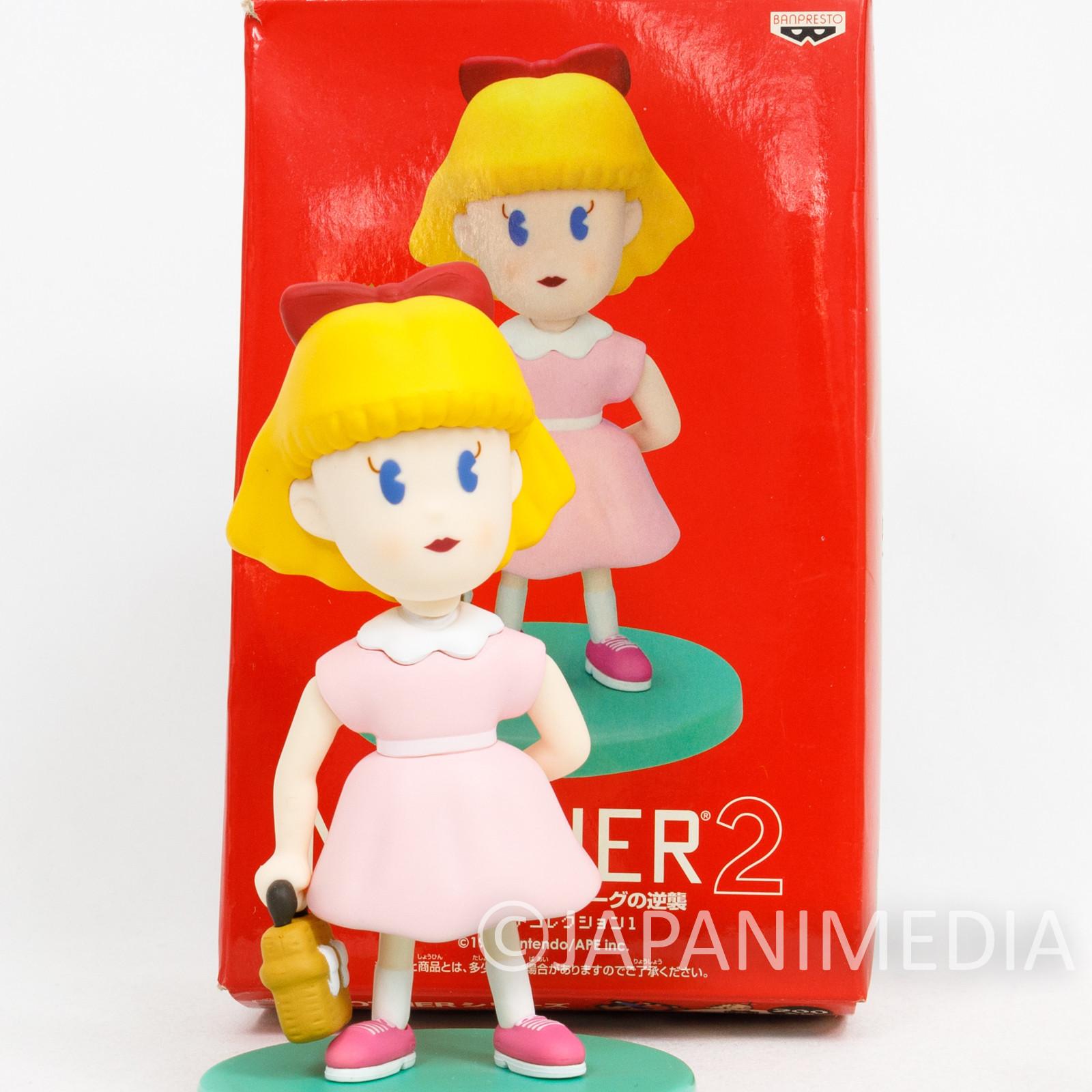 "MOTHER 2 Pola 4"" Figure Banpresto JAPAN NINTENDO FAMICOM NES GAME"