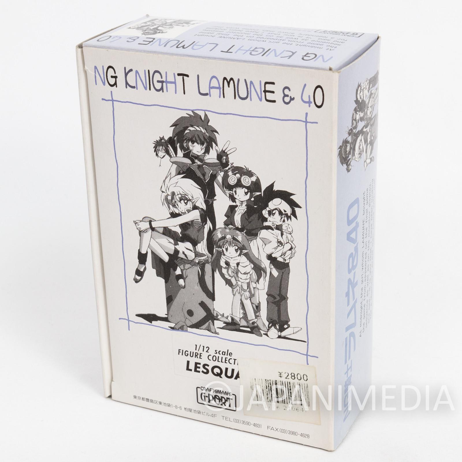 NG Knight Lamune & 40 Leska Lesqua Resin Cast Model Kit 1/12 Scale JAPAN FIGURE