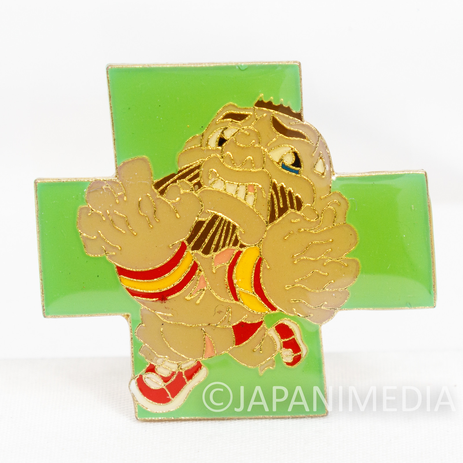Street Fighter 2 Metal Pins Badge Zangief Capcom Character JAPAN GAME 4