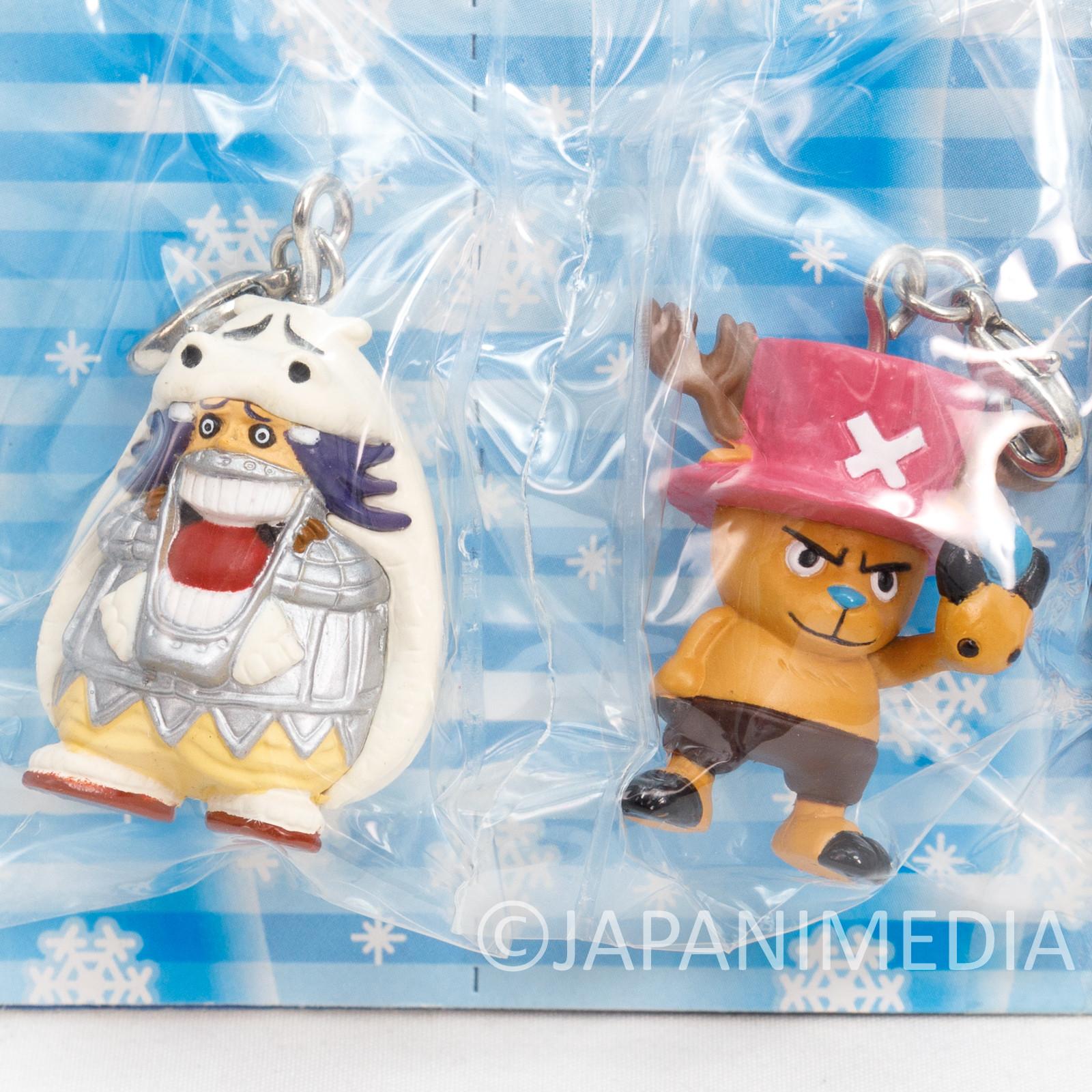 One Piece Chopper & Wapol Figure Mascot Charm Banpresto JAPAN