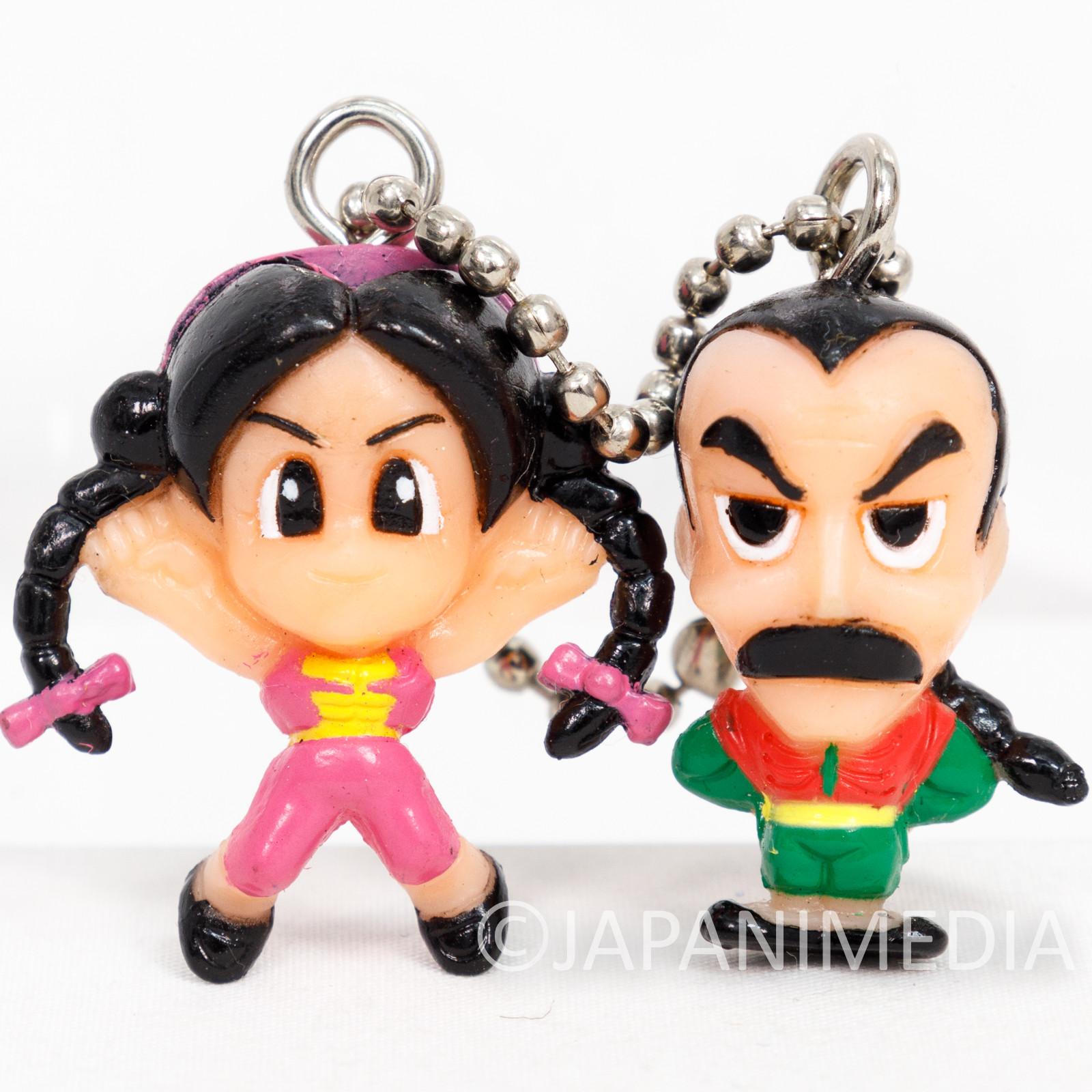 Virtua Fighter Lau & Pai Macot Figure Ballchain JAPAN ANIME