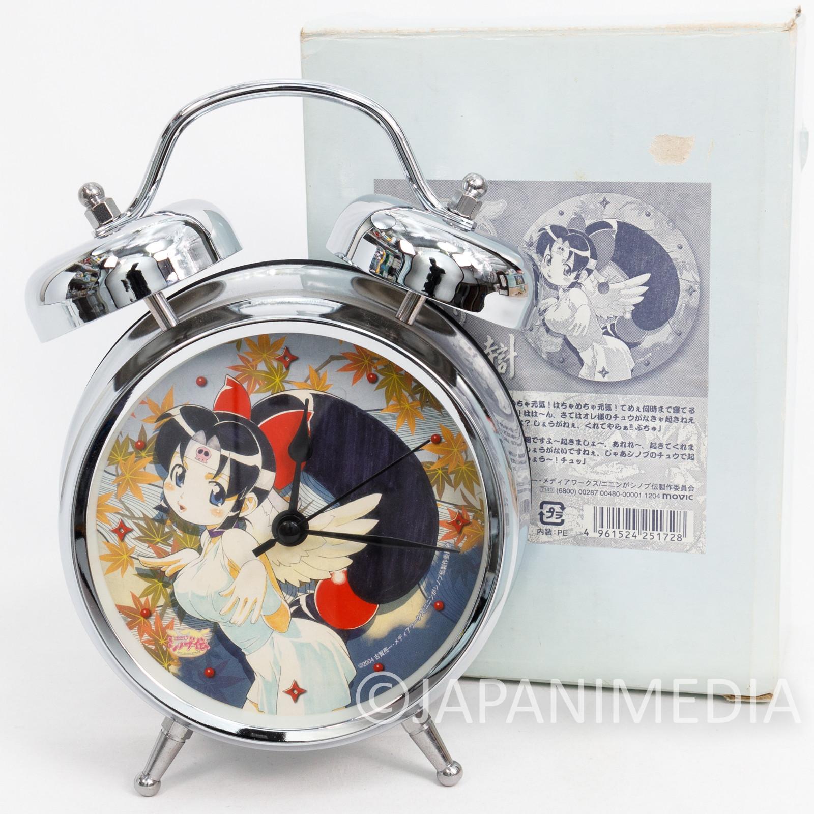 Ninja Nonsense : Ninin Ga Shinobu Den Voice Alarm Clock JAPAN ANIME