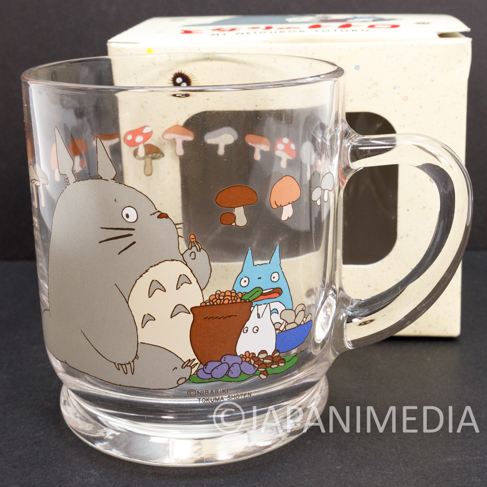 My Neighbor Totoro Glass Mug Ghibli JAPAN ANIME