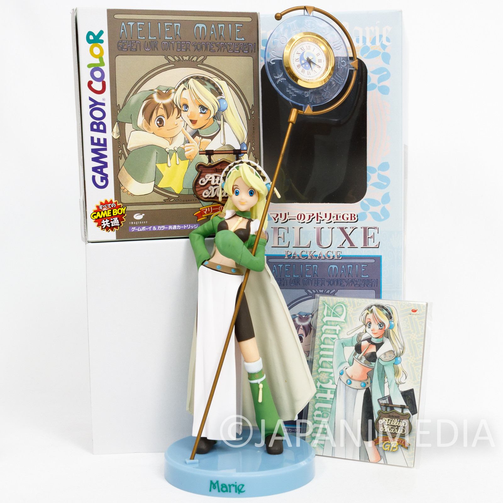 Atelier Marie GB Special Pack: Figure + Game Boy Color Cartridge + Trading Card