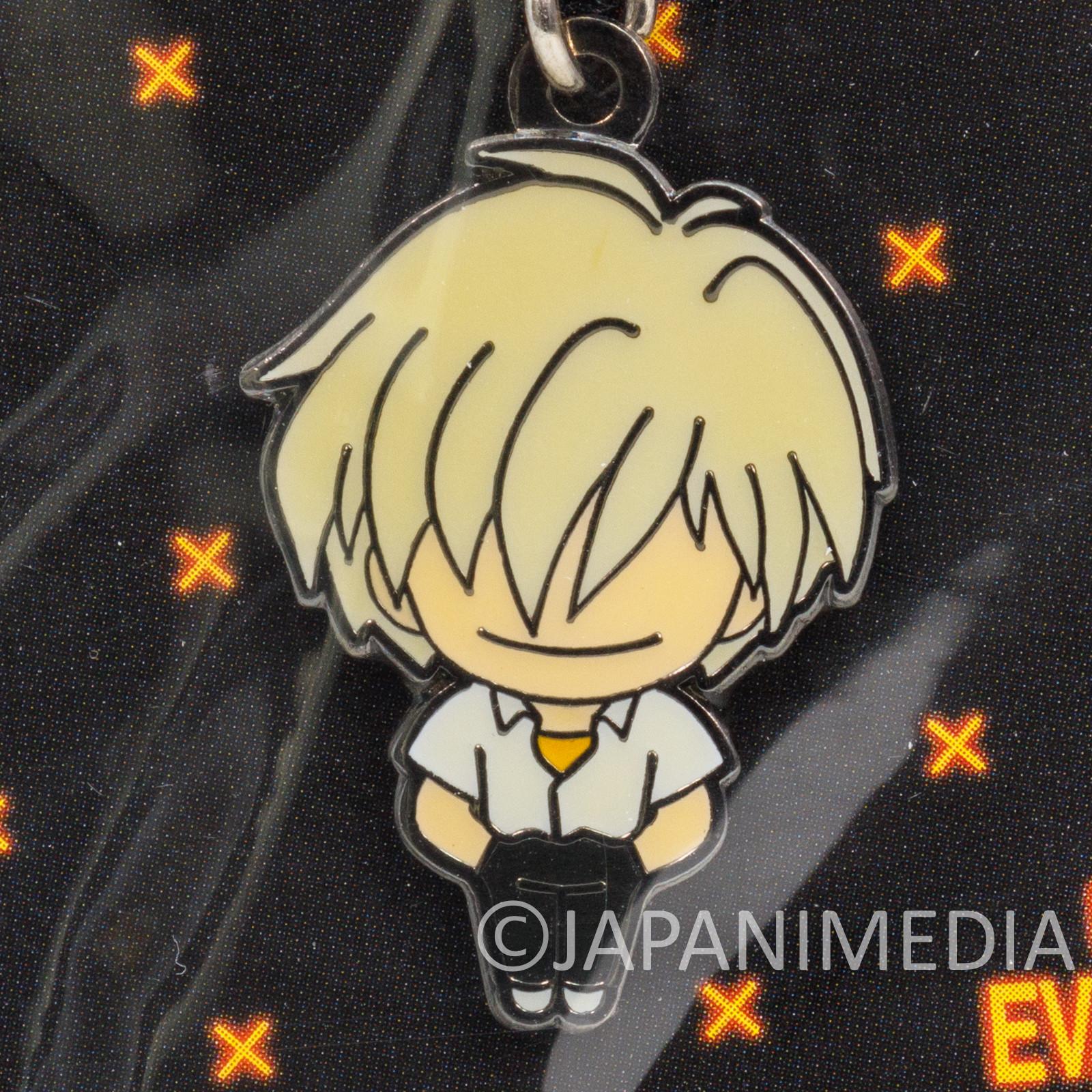 Evangelion 17th Angel Shito Tabris Kaworu Mascot Charm Fastener Accessories
