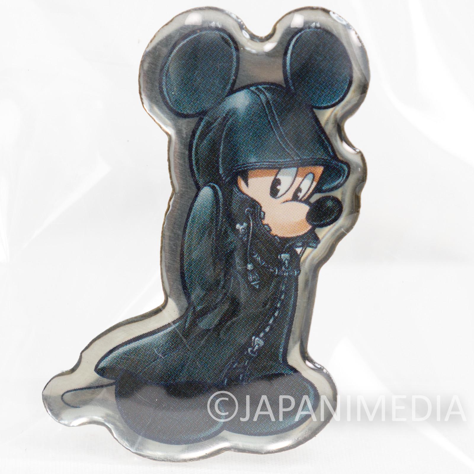 Kingdom Hearts KING MICKEY Metal Pins Square Enix JAPAN
