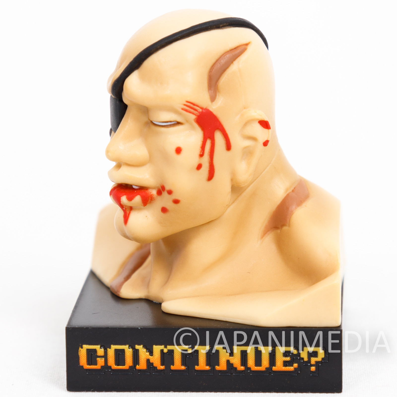 RARE! Street Fighter 2 Sagat Loser ver. Small Figure JAPAN GAME CAPCOM