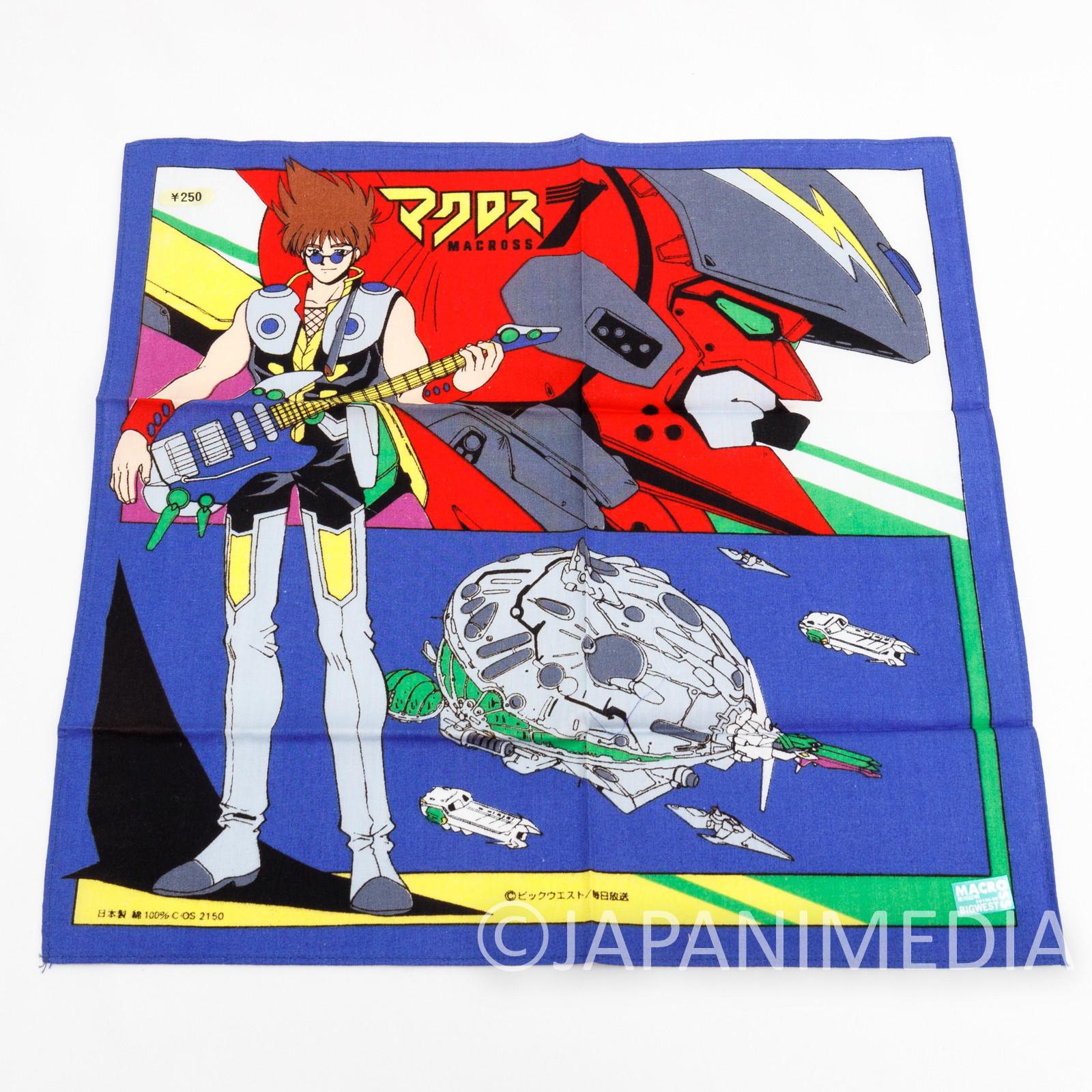 Macross 7 Basara Nekki Handkerchief JAPAN ANIME