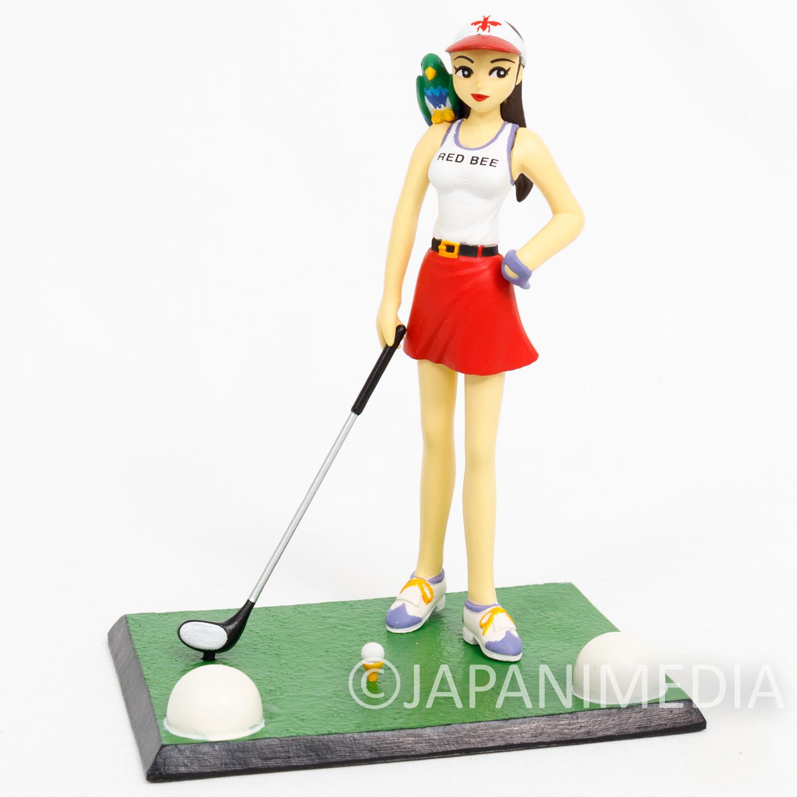 Pro Golfer Saru Benibachi Hatsuko Kurenai Mini Diorama Figure JAPAN ANIME