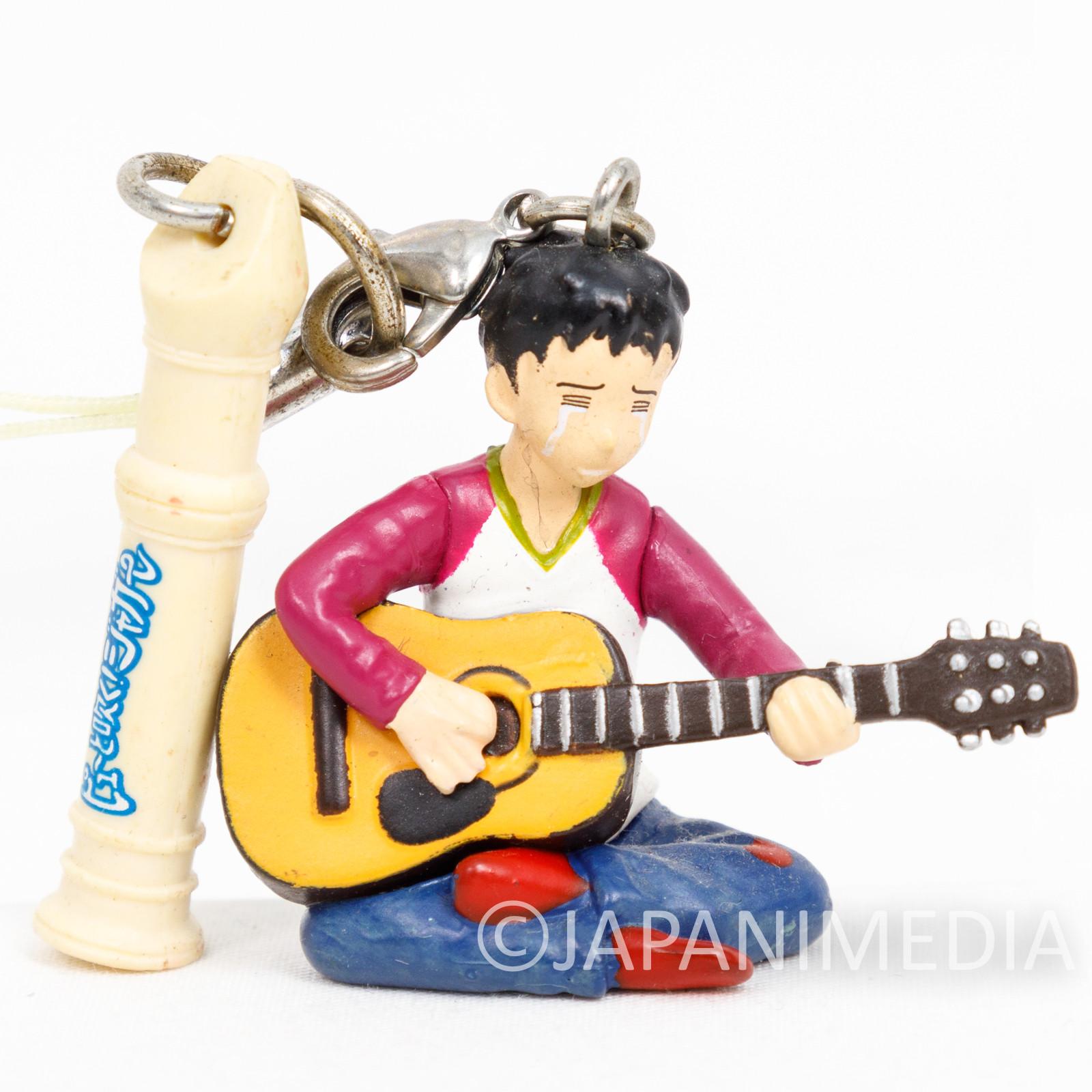 Pyu to Fuku! Jaguar Piyohiko with Guitar Figure Strap JAPAN ANIME