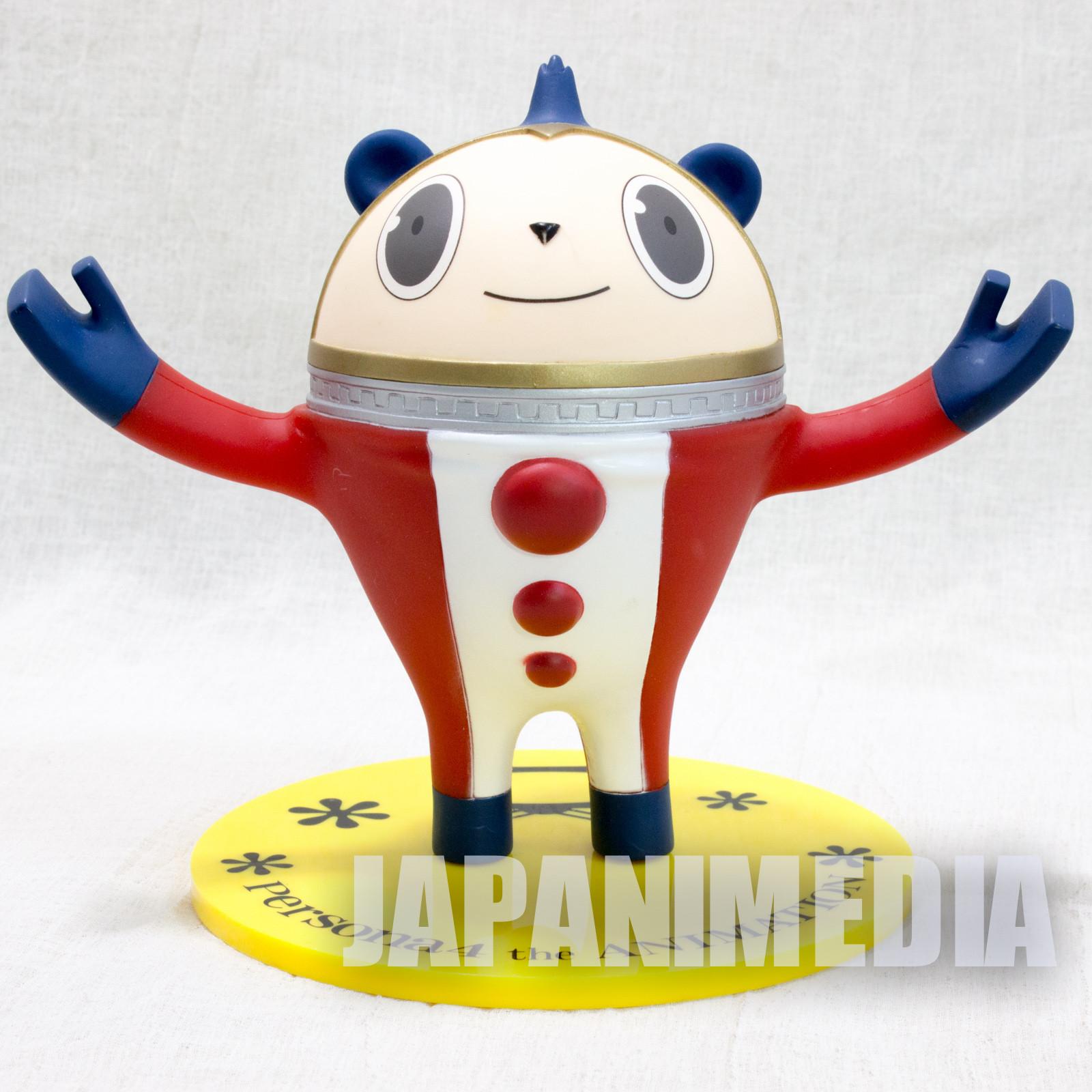 P4 Persona 4 the Animation Prize D Kuma Figure Glasses Stand Figure JAPAN