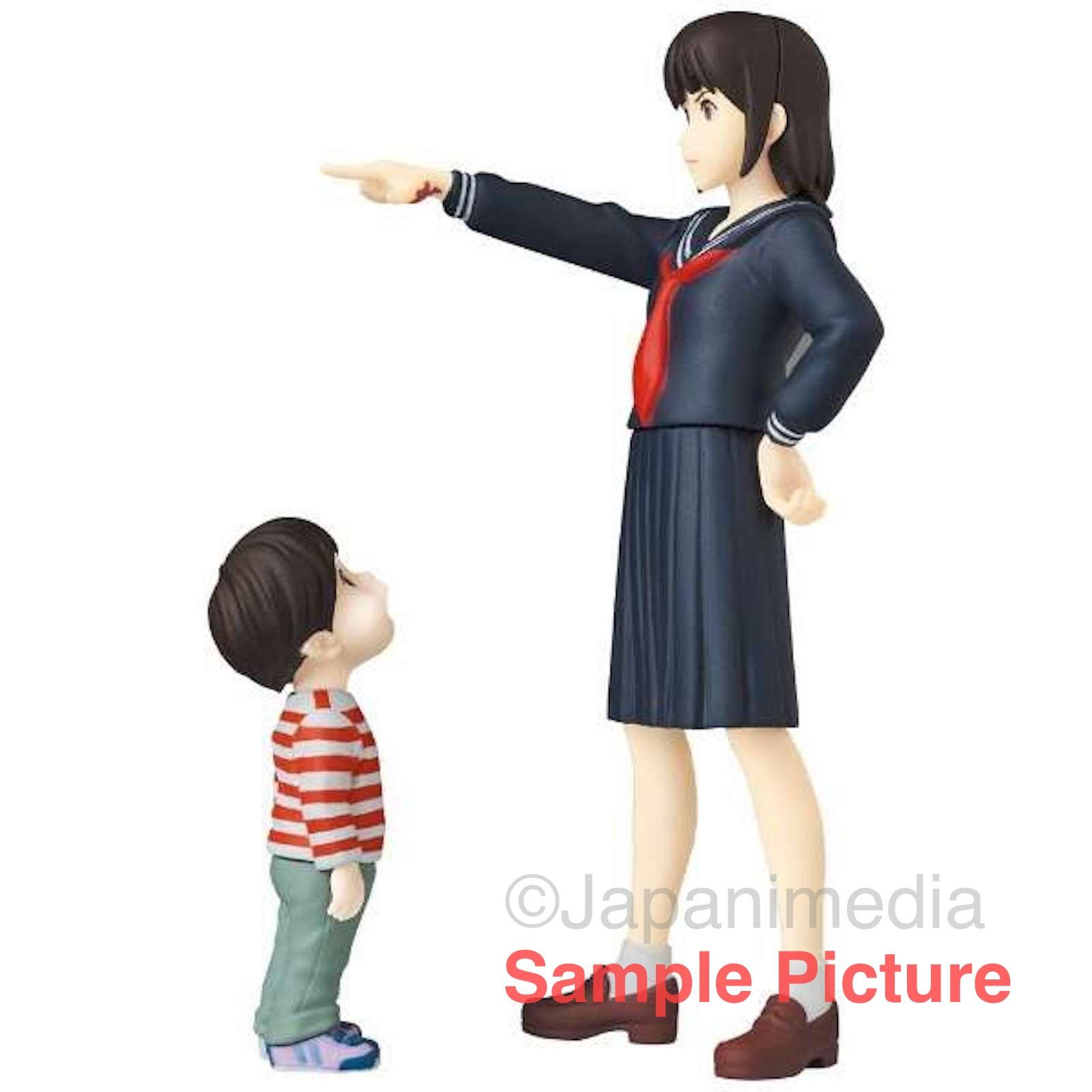 MIRAI Kun-chan & Mirai Ultra Detail Figure UDF Medicom Toy JAPAN MAMORU HOSODA