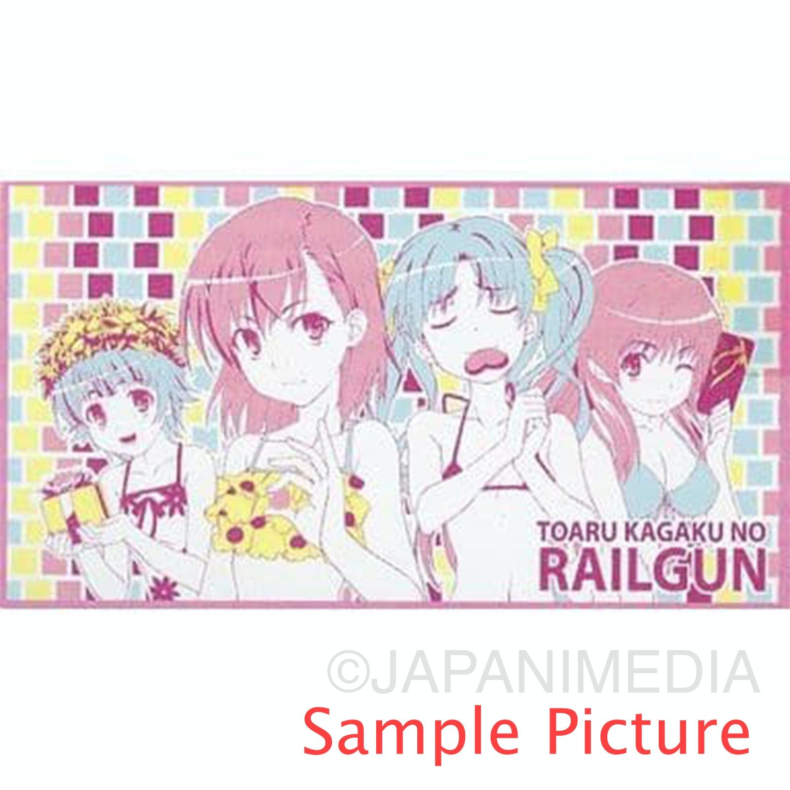 A Certain Scientific Railgun Summer Towel Blanket 80x150cm #1 JAPAN ANIME