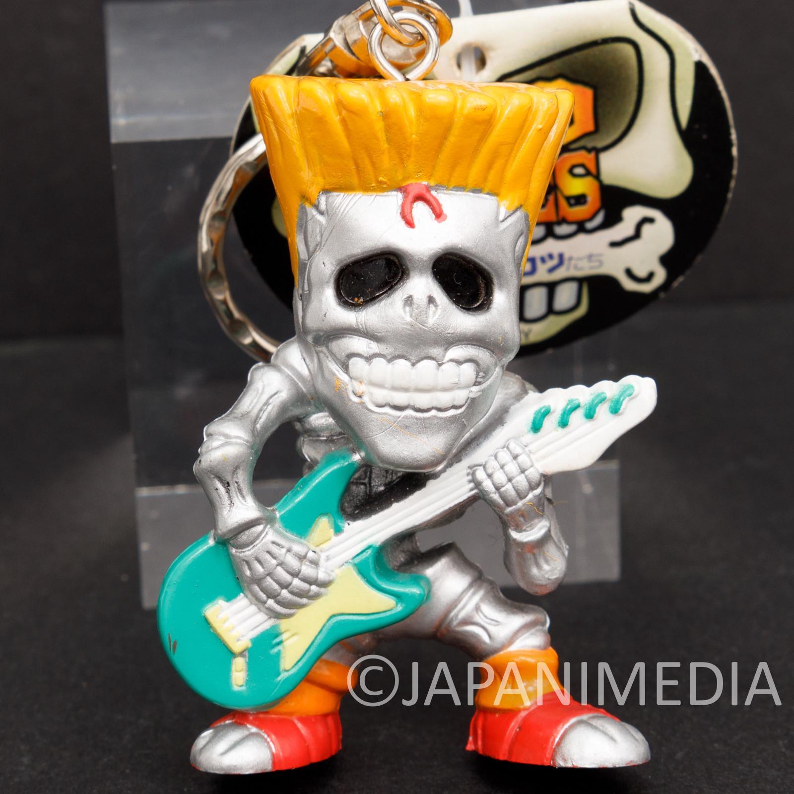 BAD BONES Heavy Metal Figure Keychain Hobby Mate JAPAN