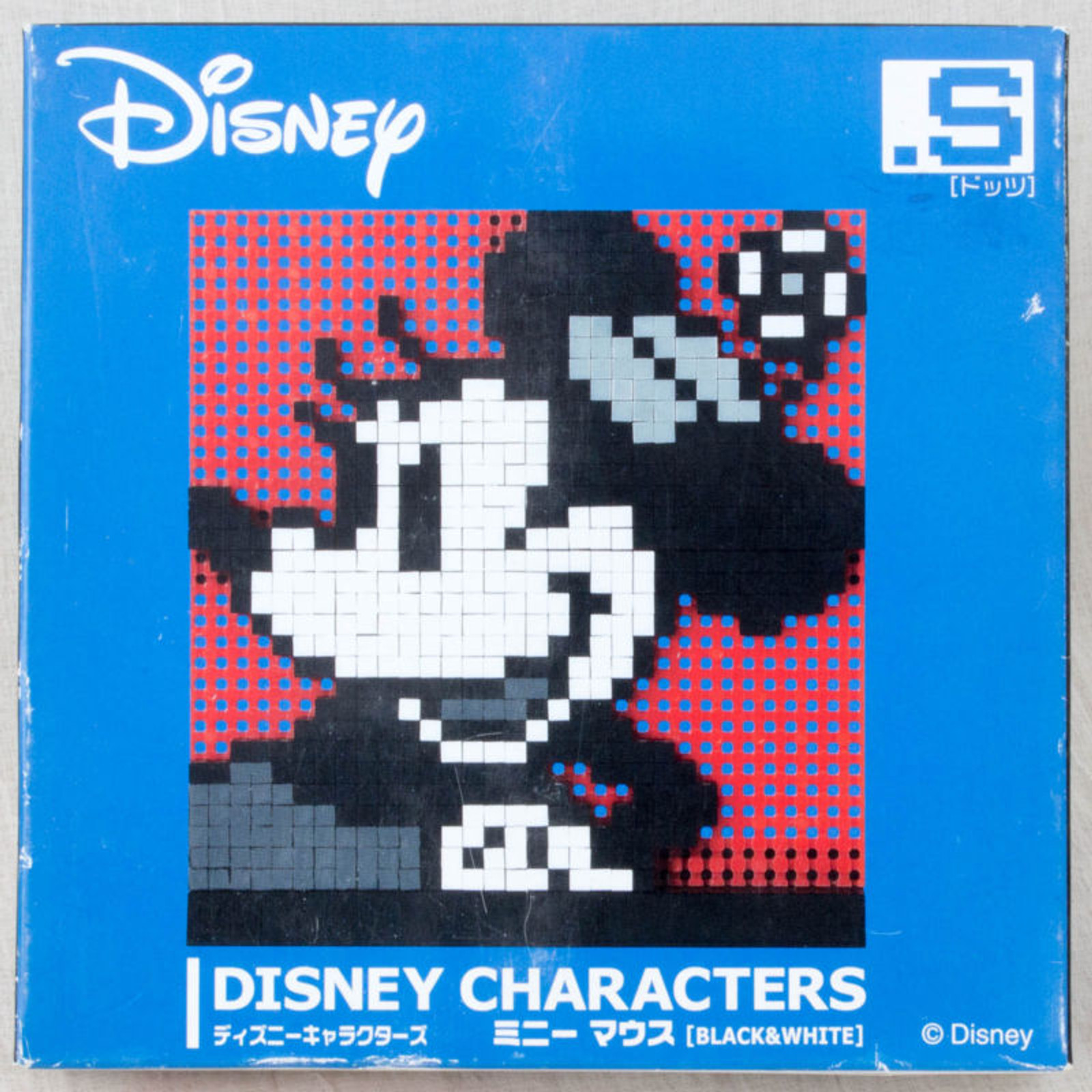 Disney Characters Minnie Mouse Dots .S Puzzle Pin Panel Toy Tomytec JAPAN