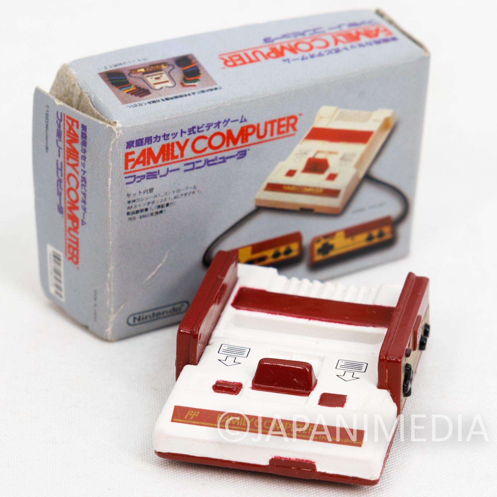 Nintendo Game Machine Miniature Figure Family Computer Famicom NES