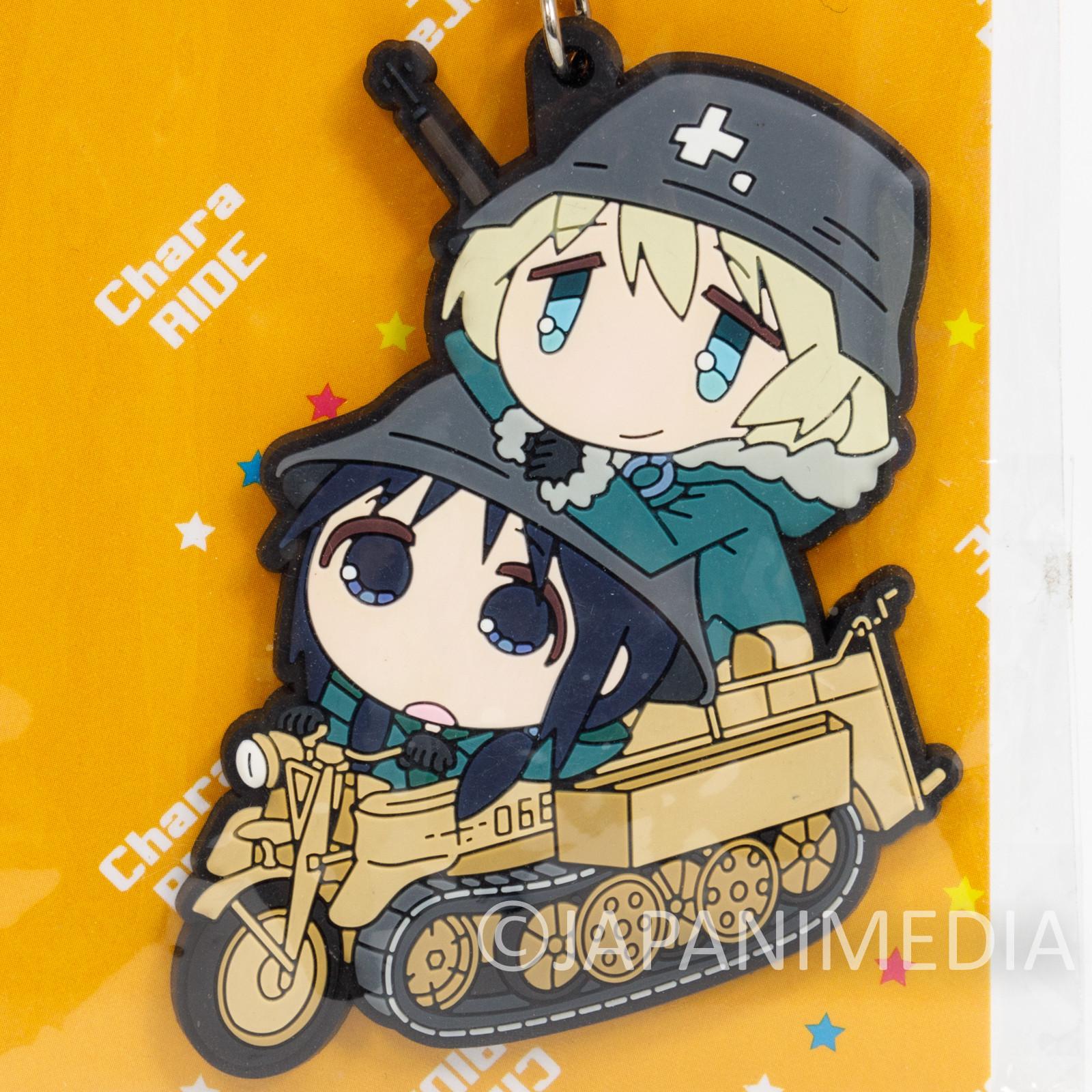 Girls' Last Tour Chito & Yuuri Rubber Mascot Strap Shojo Shomatsu Ryoko