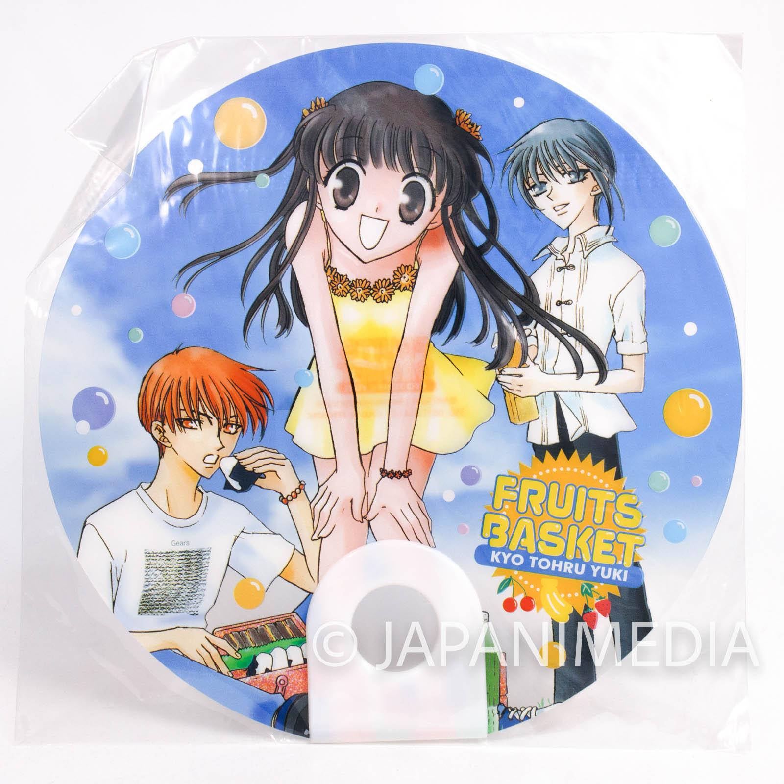 Fruits Basket Uchiwa Round Fan [Tohru / Yuki / Kyo] JAPAN MANGA