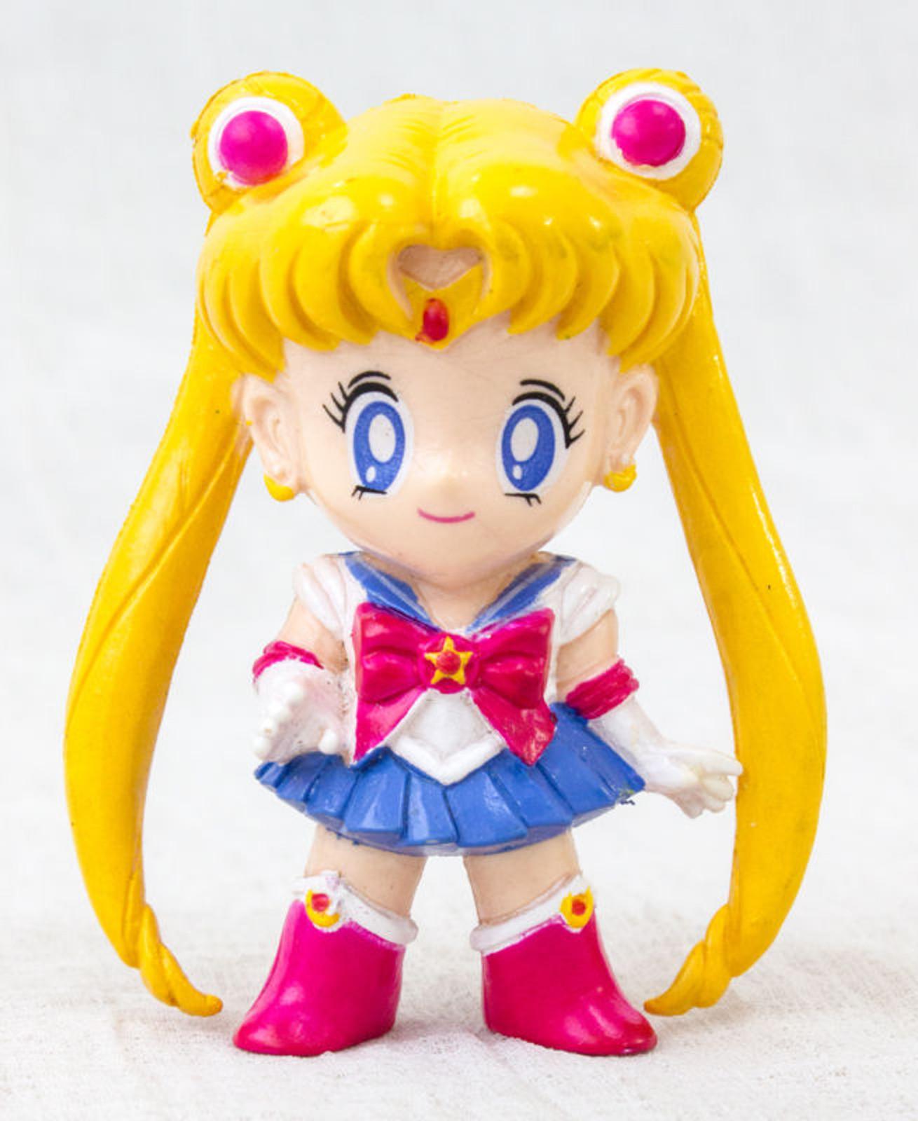 "Sailor Moon Sailor Moon (Usagi Tsukino) Retro Mini Figure 2.5"" JAPAN ANIME MANGA"
