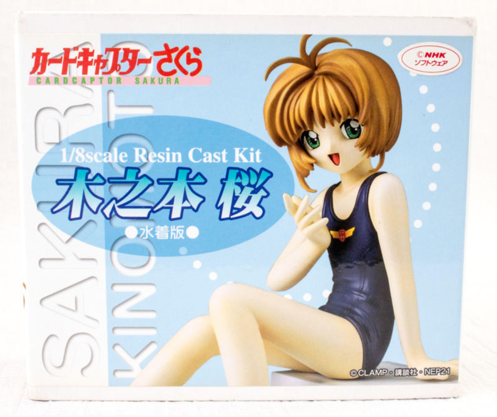 RARE Cardcaptor Sakura 1/8 scale Resin Kit Figure Swimwear Ver. CLAMP Kotobukiya JAPAN