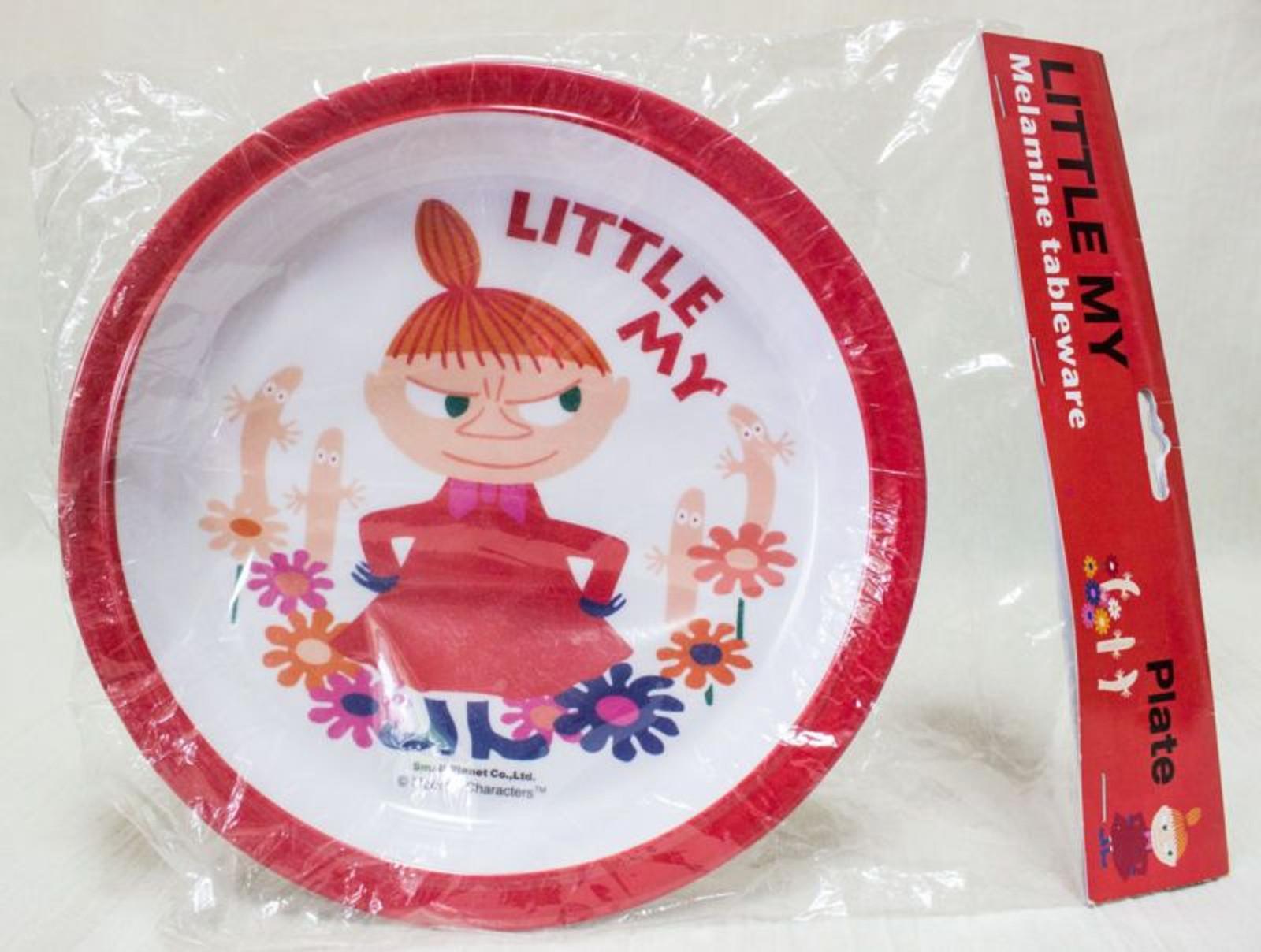 Moomin Little My Melamine Tableware Plate Small Planet JAPAN ANIME