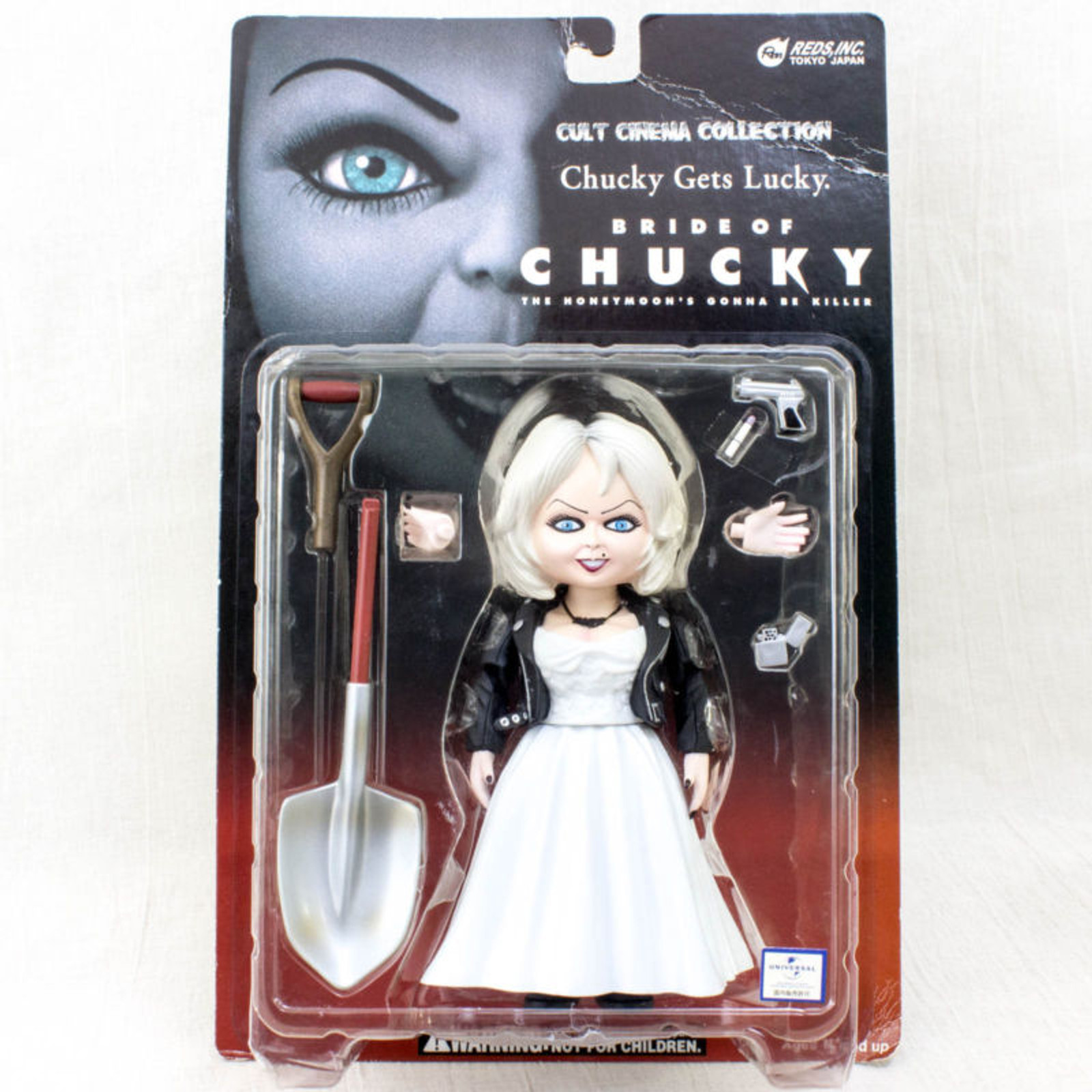 Bride of Chucky Tiffany Figure Cult Cinema Collection REDS JAPAN / Child's Play