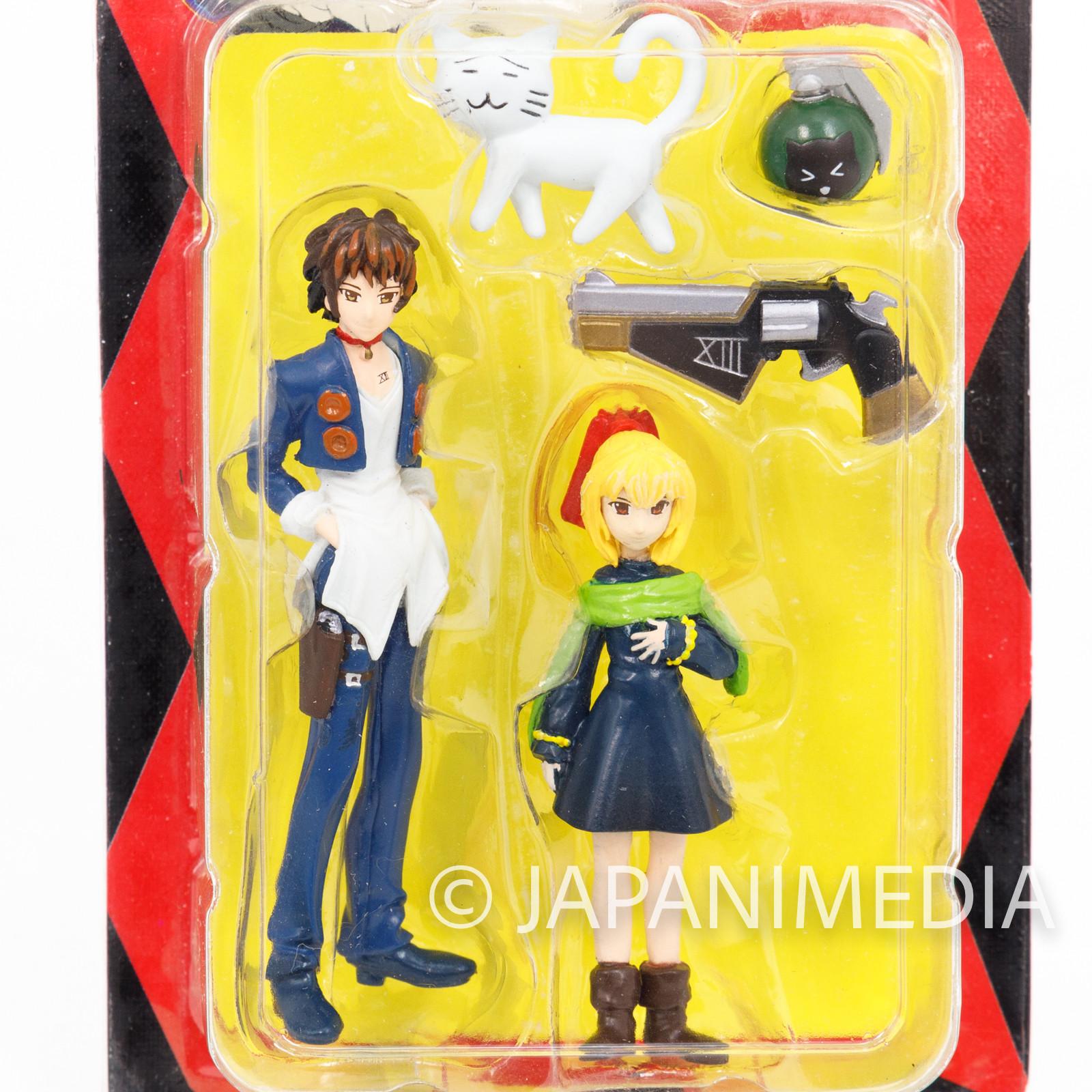 Black Cat Train Heartnet Eve Shonen Jump Original Figure JAPAN ANIME