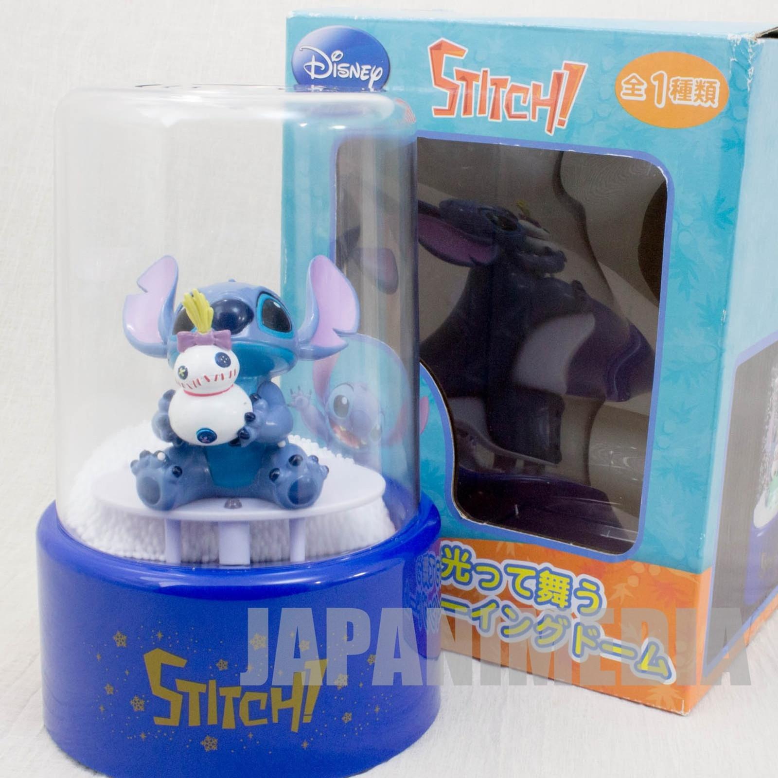 Disney Stitch Electric Snowing Dome Figure SEGA JAPAN ANIME