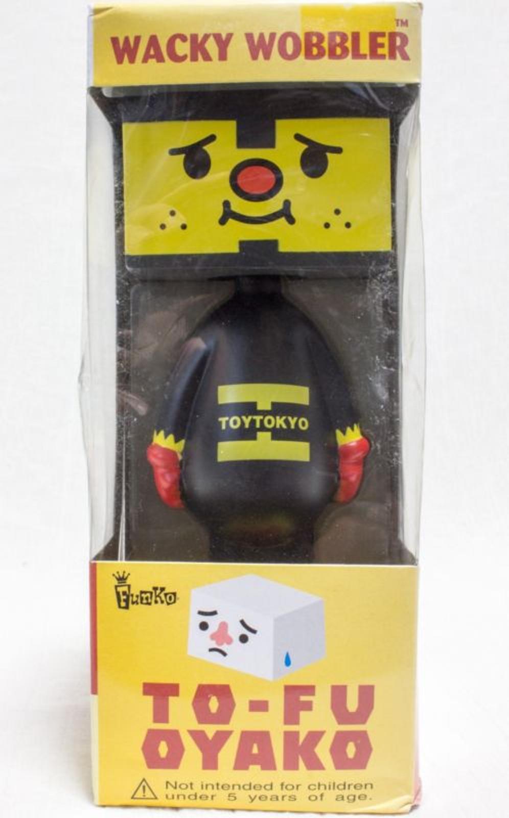 To-Fu Oyako Toy Tokyo Wacky Wobbler Bobble Head Figure Toy Funko Devilrobots