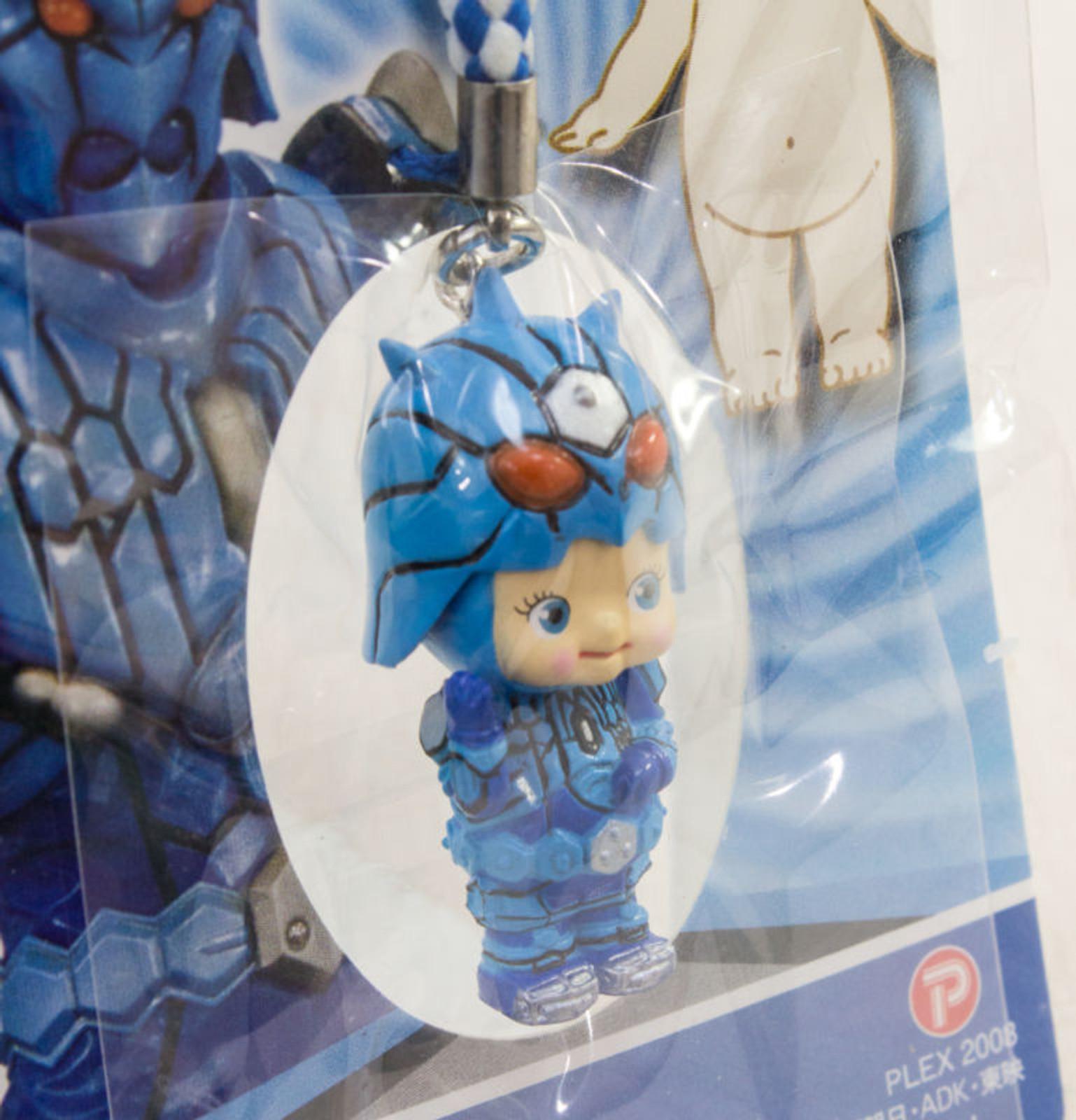 Kamen Rider Denoh Uratarosu Rose O'neill Kewpie Kewsion Strap JAPAN