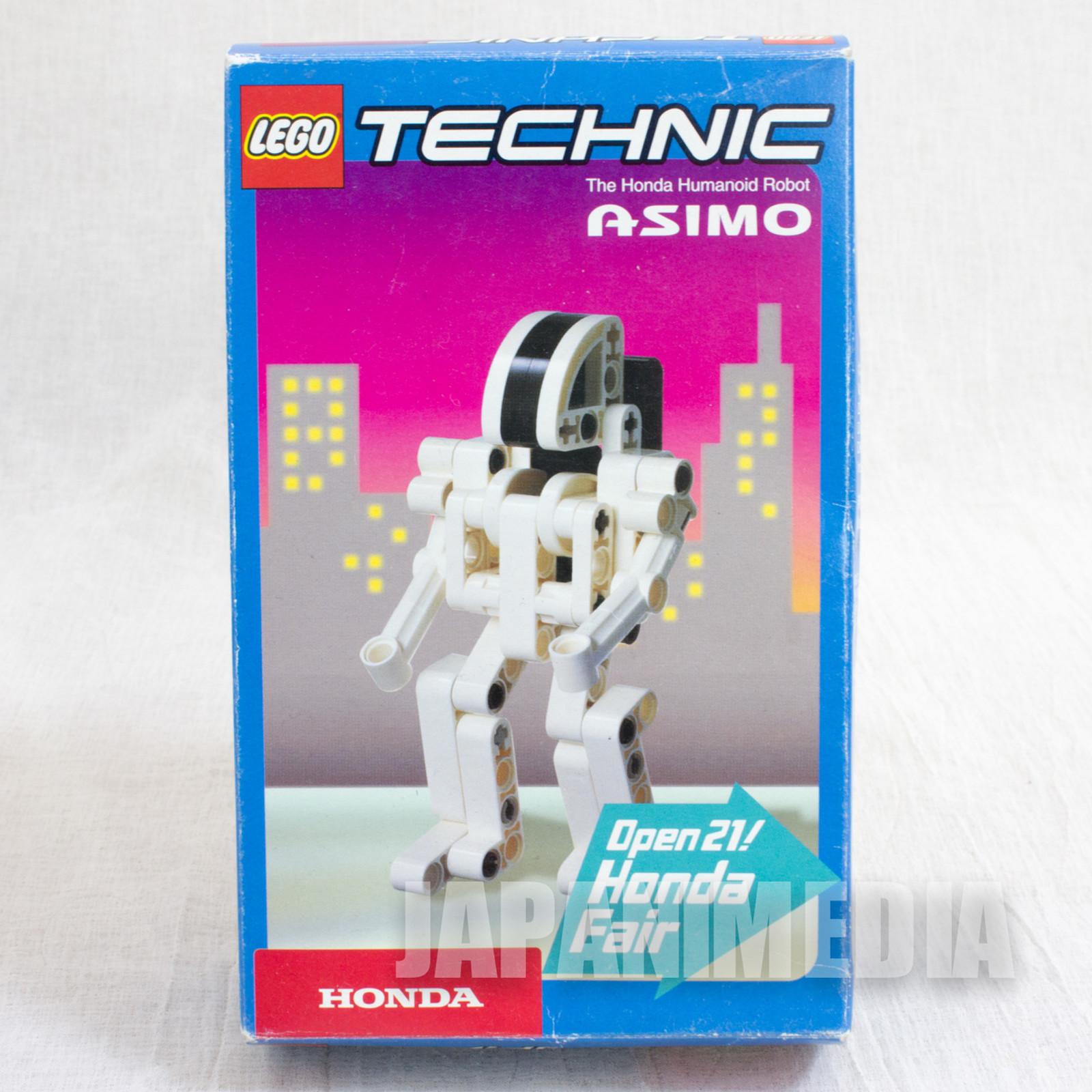 HONDA Humanoid Robot Asimo LEGO Block Toy Figure Android JAPAN