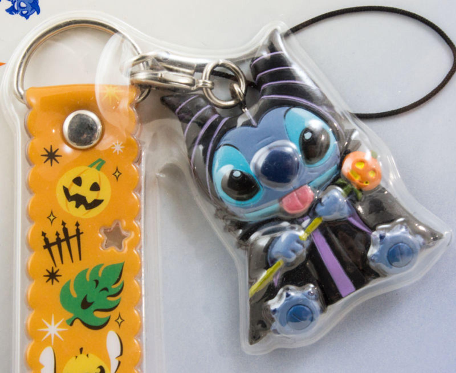 Disney Stitch Mobile Strap Halloween Ver. Mascot Figure Banpresto  JAPAN ANIME