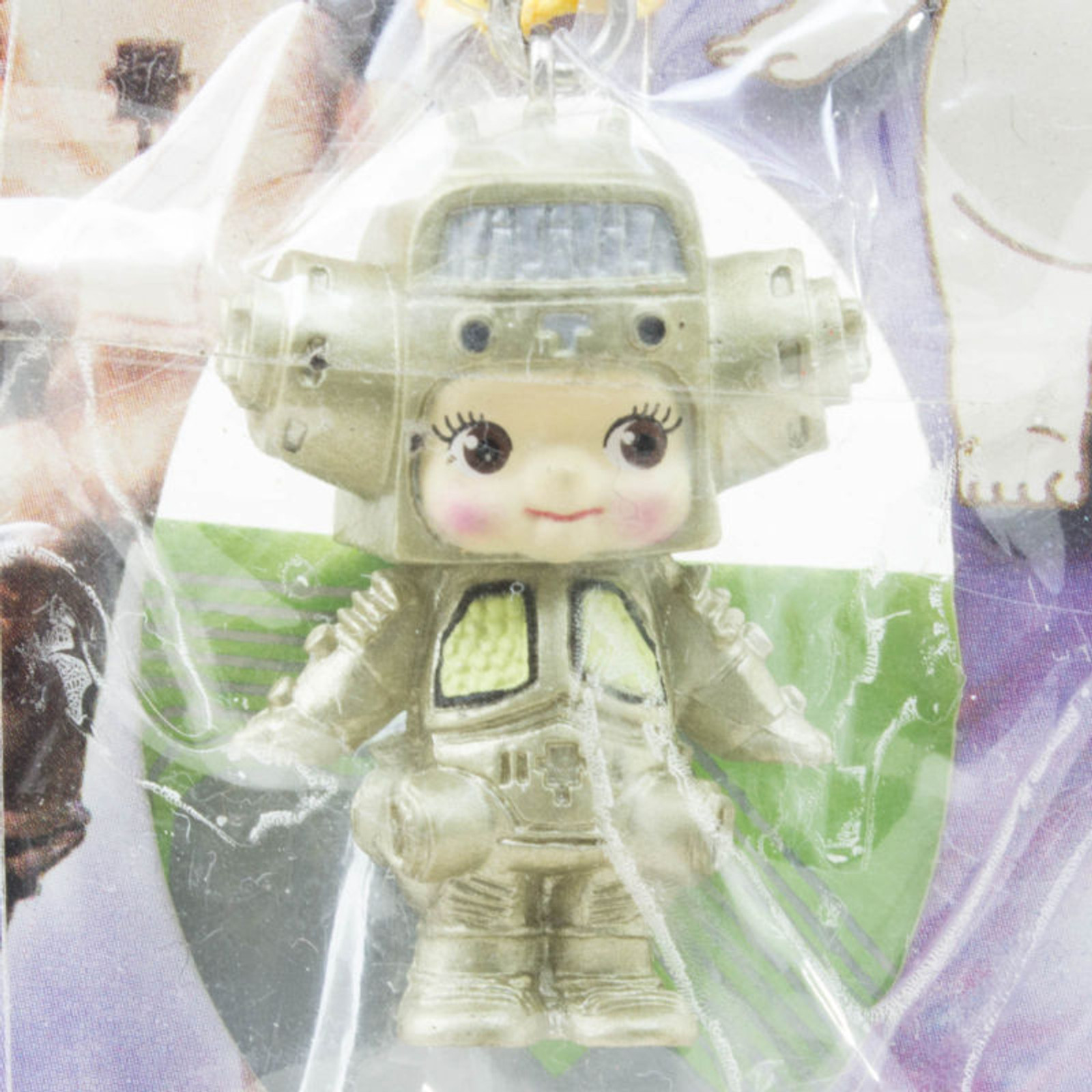 Ultraman King Joe Rose O'neill Kewpie Kewsion Figure Strap JAPAN ANIME