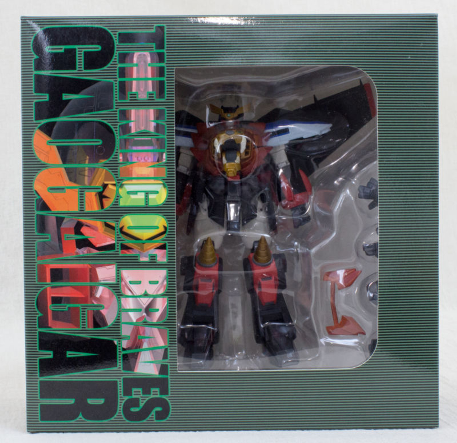 The King of Braves Gaogaigar Figure Limited JAPAN ANIME MANGA