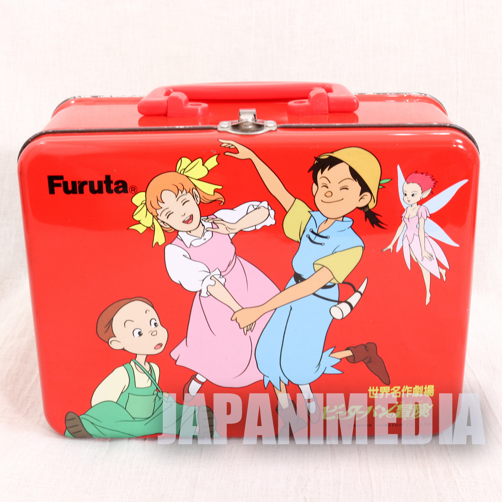 Adventures of Peter Pan World Masterpiece Theater Metallic Can Box JAPAN ANIME