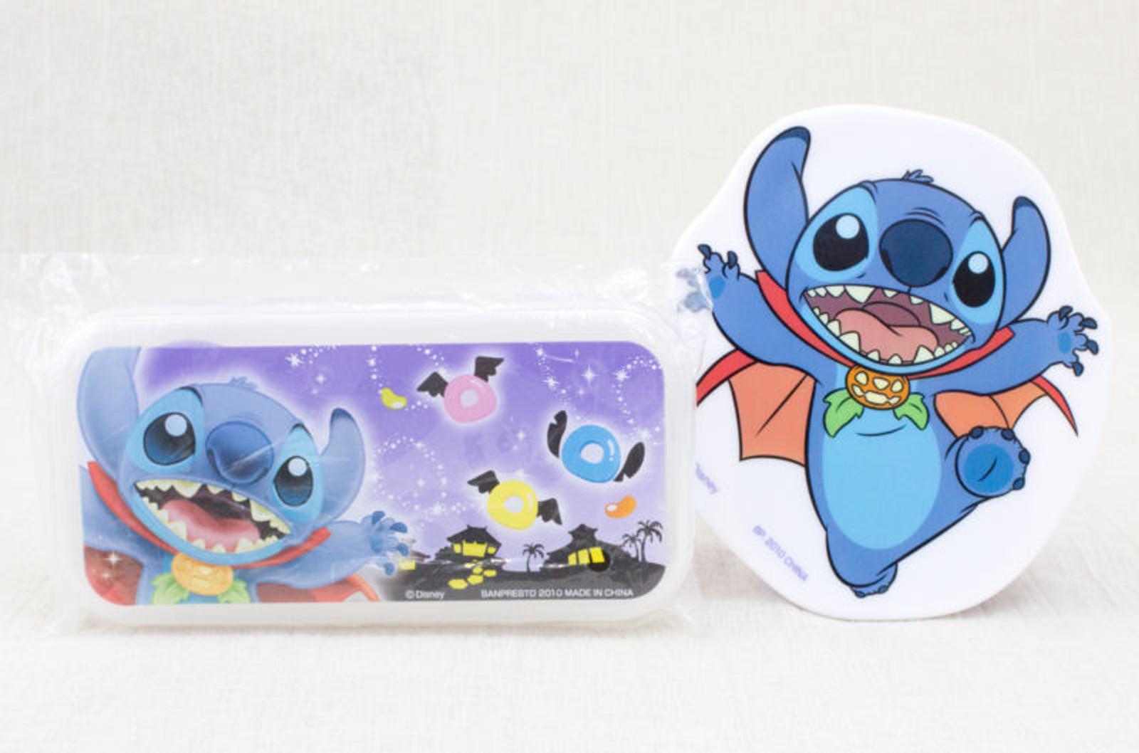 Disney Stitch Lunch Box & Tableware Set JAPAN